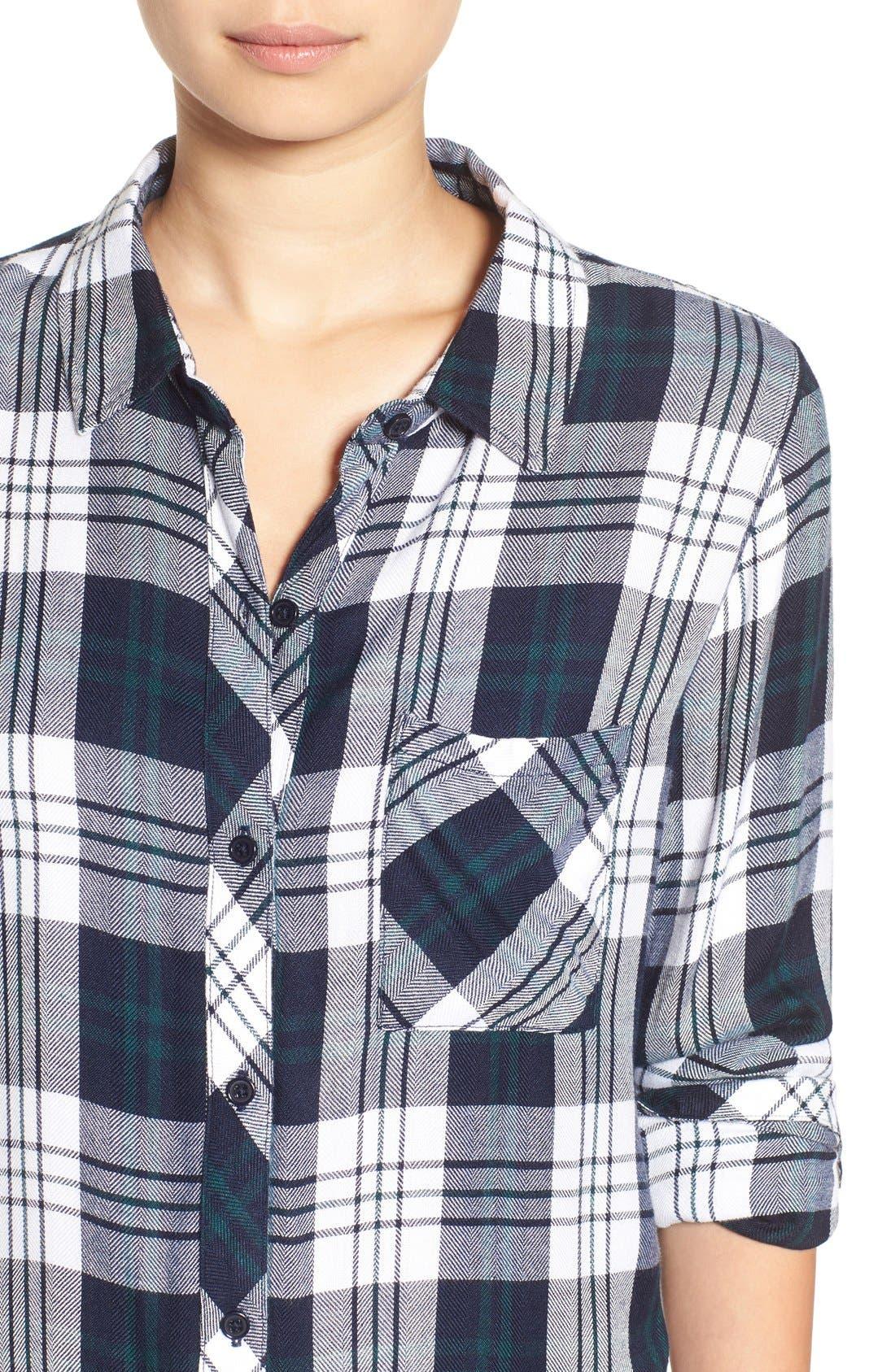 Hunter Plaid Shirt,                             Alternate thumbnail 250, color,