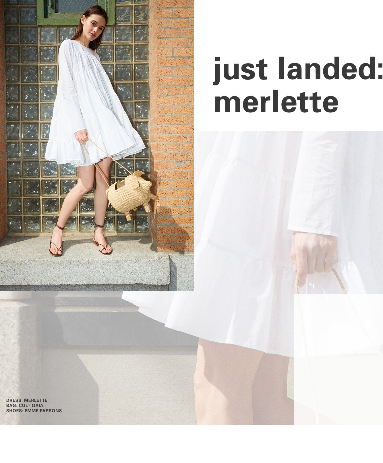 Just in: Merlette clothing.