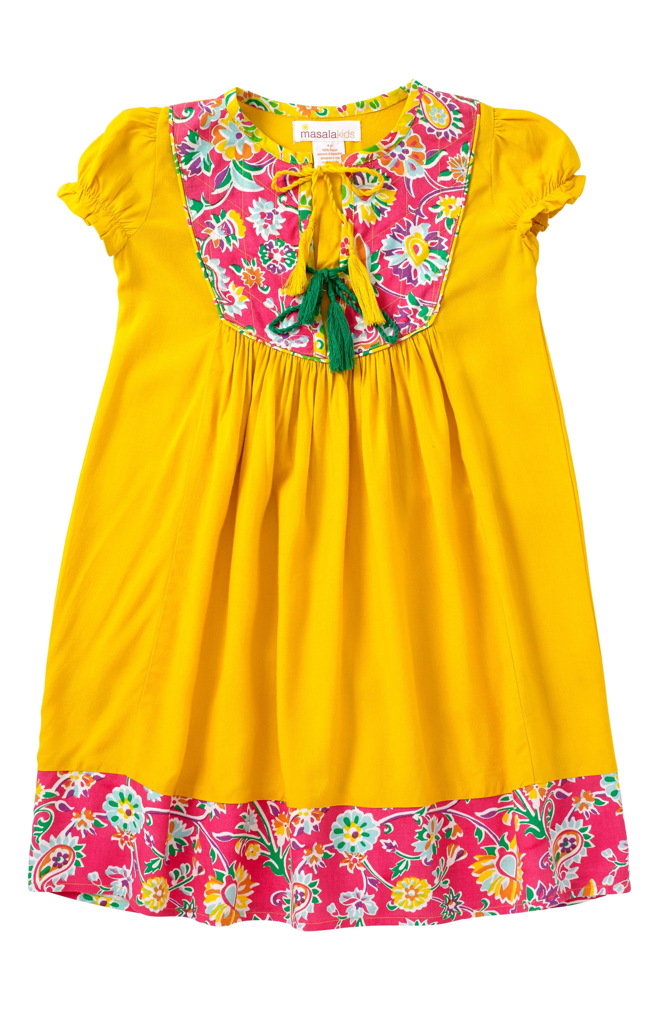 Haveli Dress,                             Main thumbnail 1, color,                             700