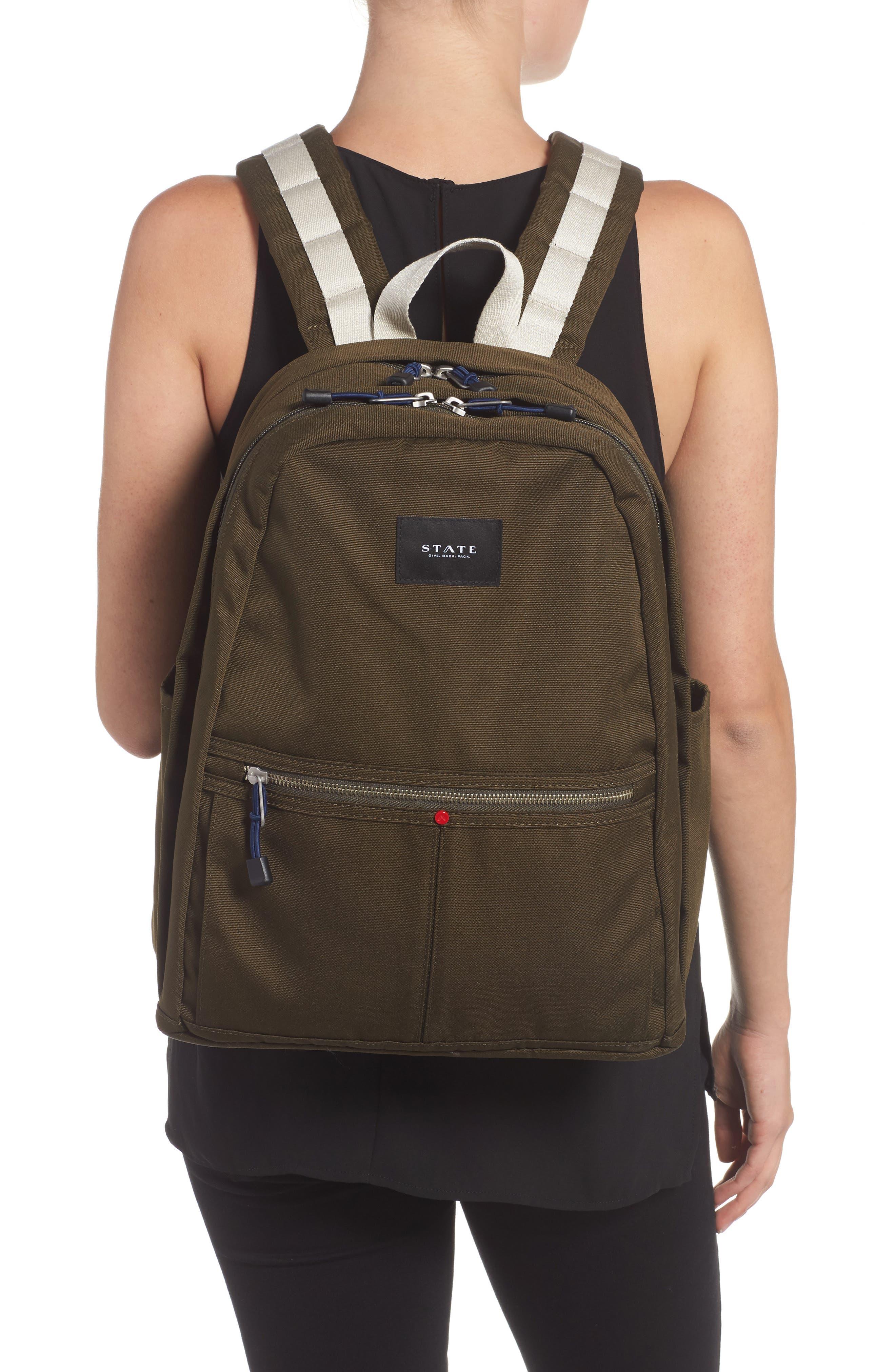 Williamsburg Bedford Backpack,                             Alternate thumbnail 5, color,