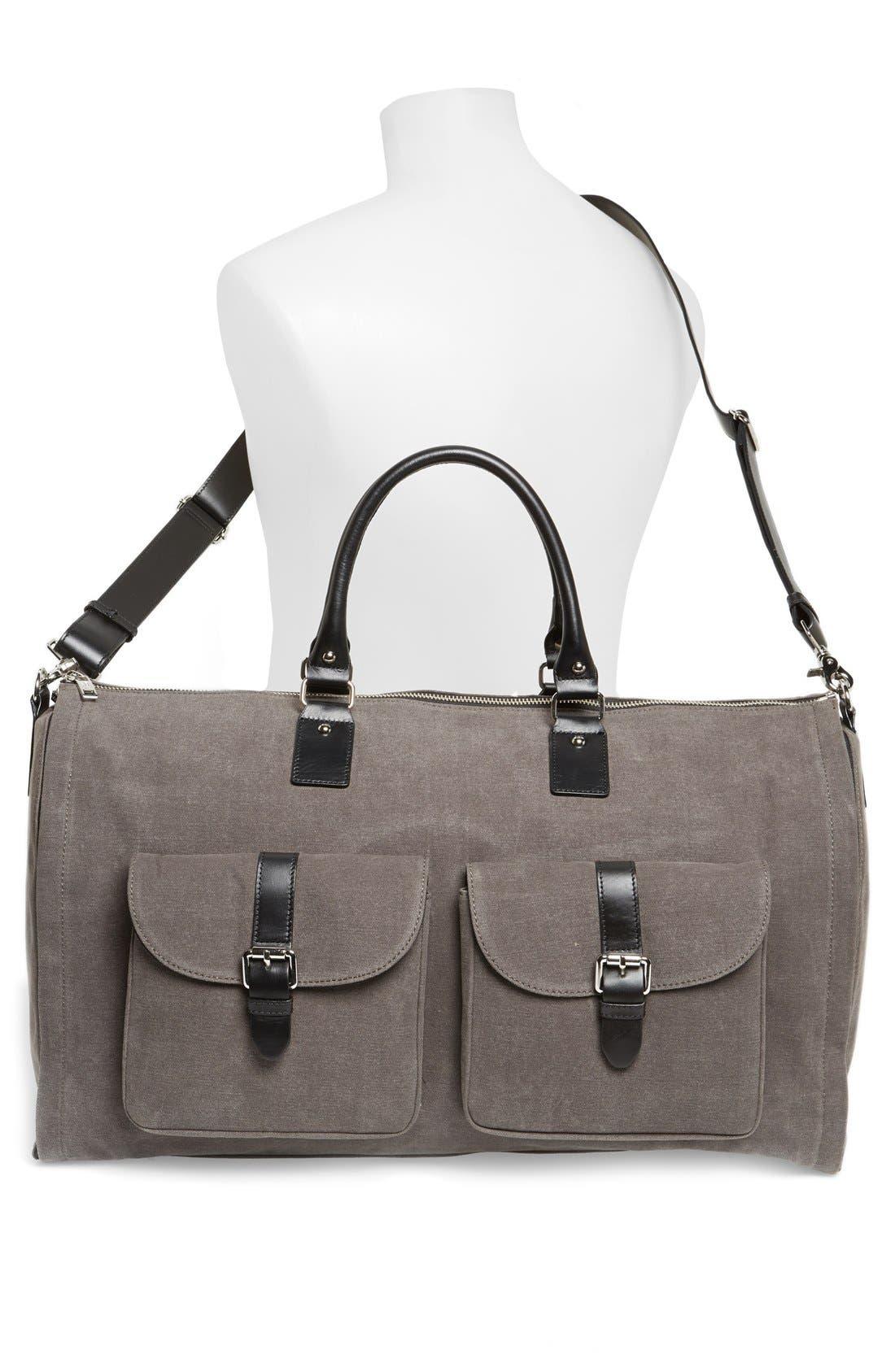 Canvas Garment/Duffel Bag,                             Alternate thumbnail 5, color,                             020