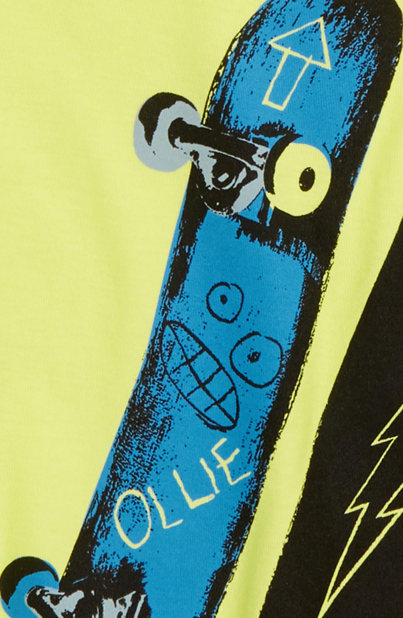 Kick Flip T-Shirt,                             Alternate thumbnail 2, color,                             739
