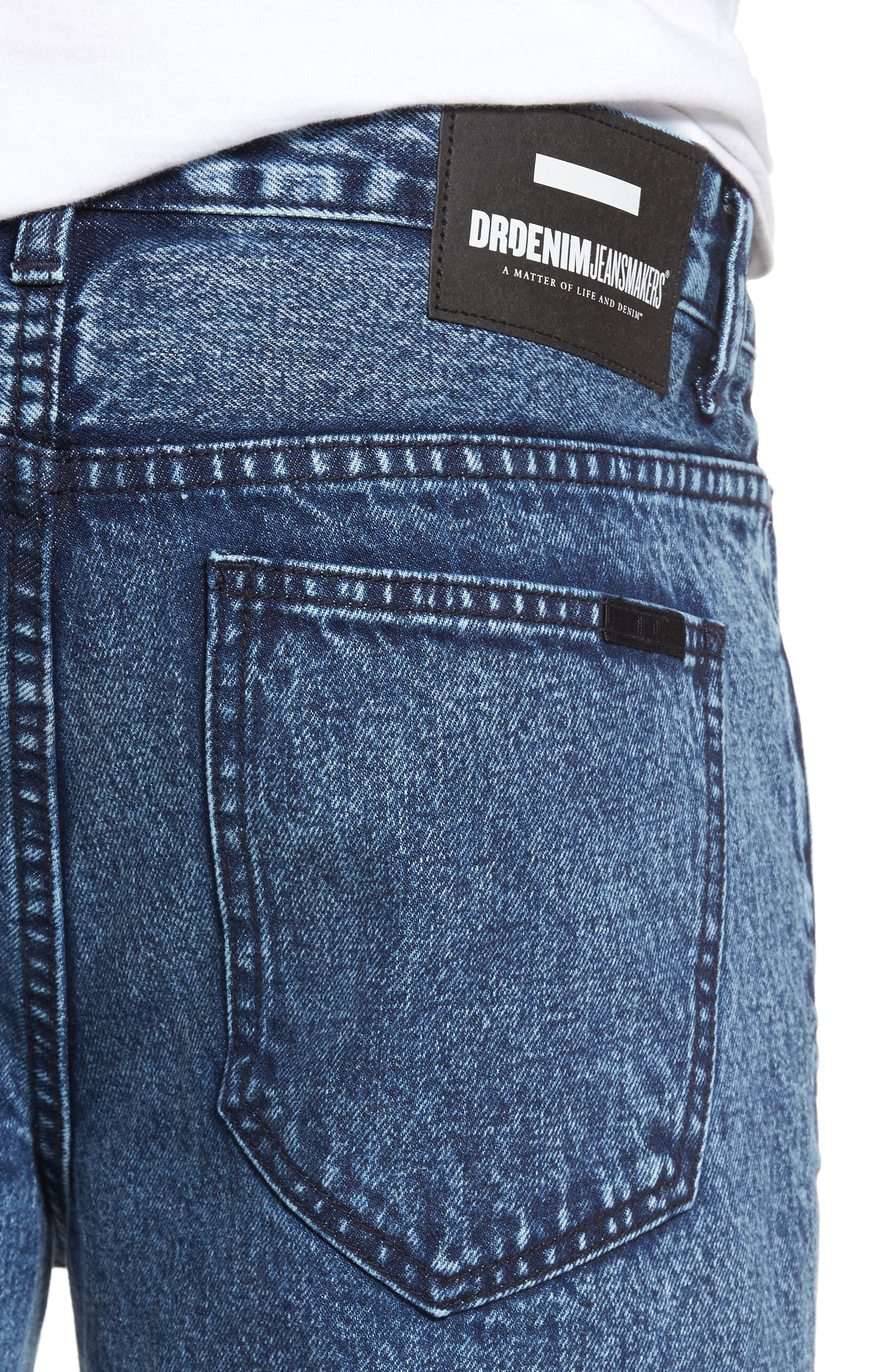 Otis Straight Fit Crop Jeans,                             Alternate thumbnail 4, color,                             400