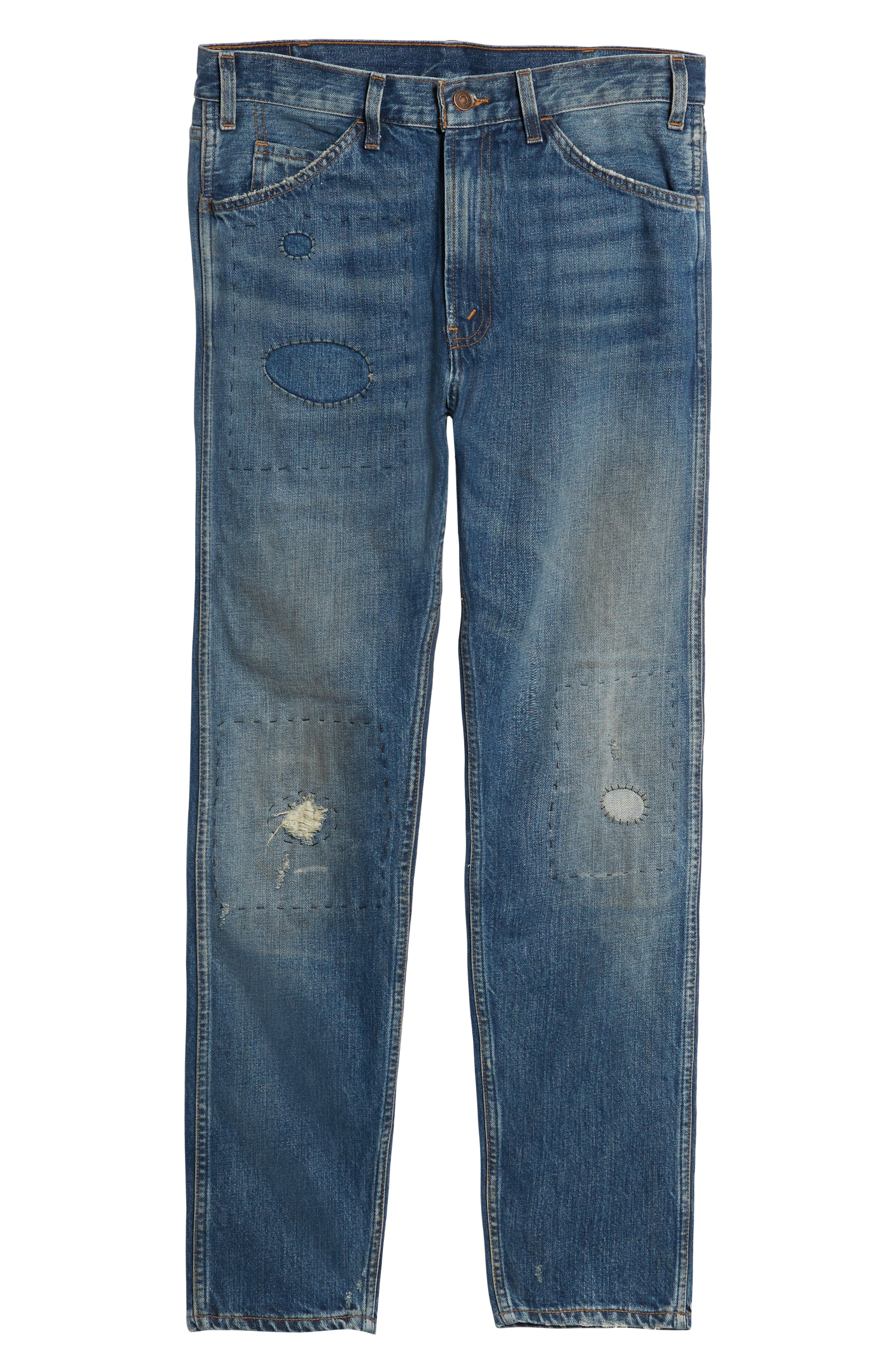 1969 606<sup>™</sup> Slim Fit Jeans,                             Alternate thumbnail 6, color,                             401