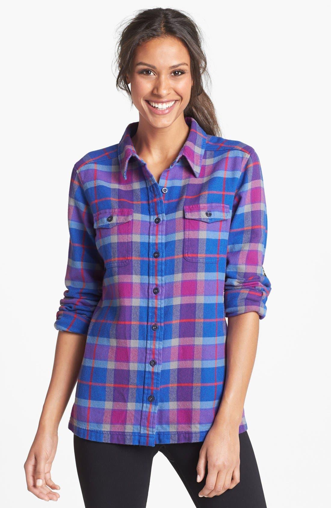 'Fjord' Flannel Shirt,                             Main thumbnail 9, color,