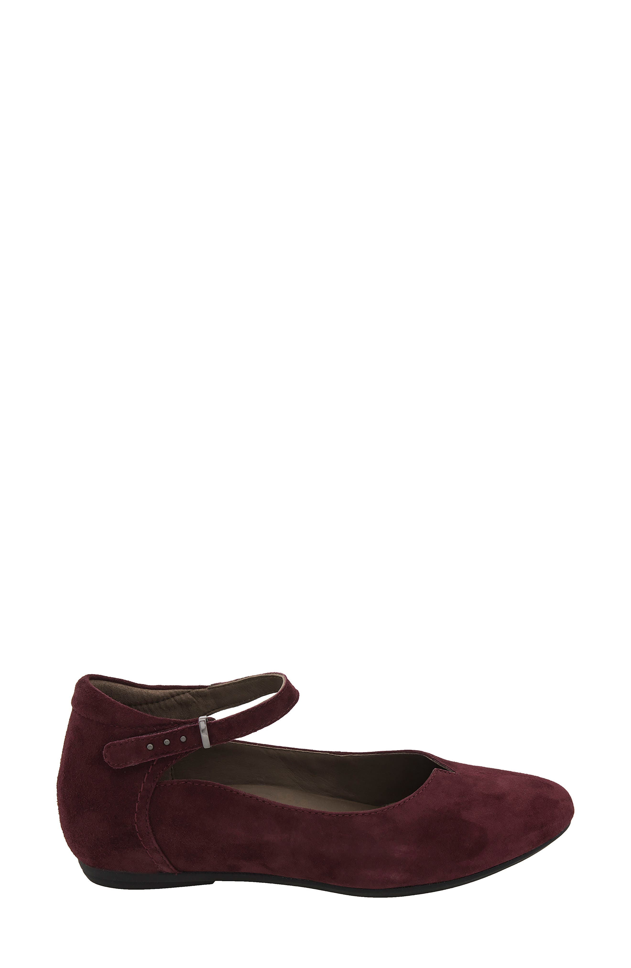 Emery Ankle Strap Flat,                             Alternate thumbnail 9, color,