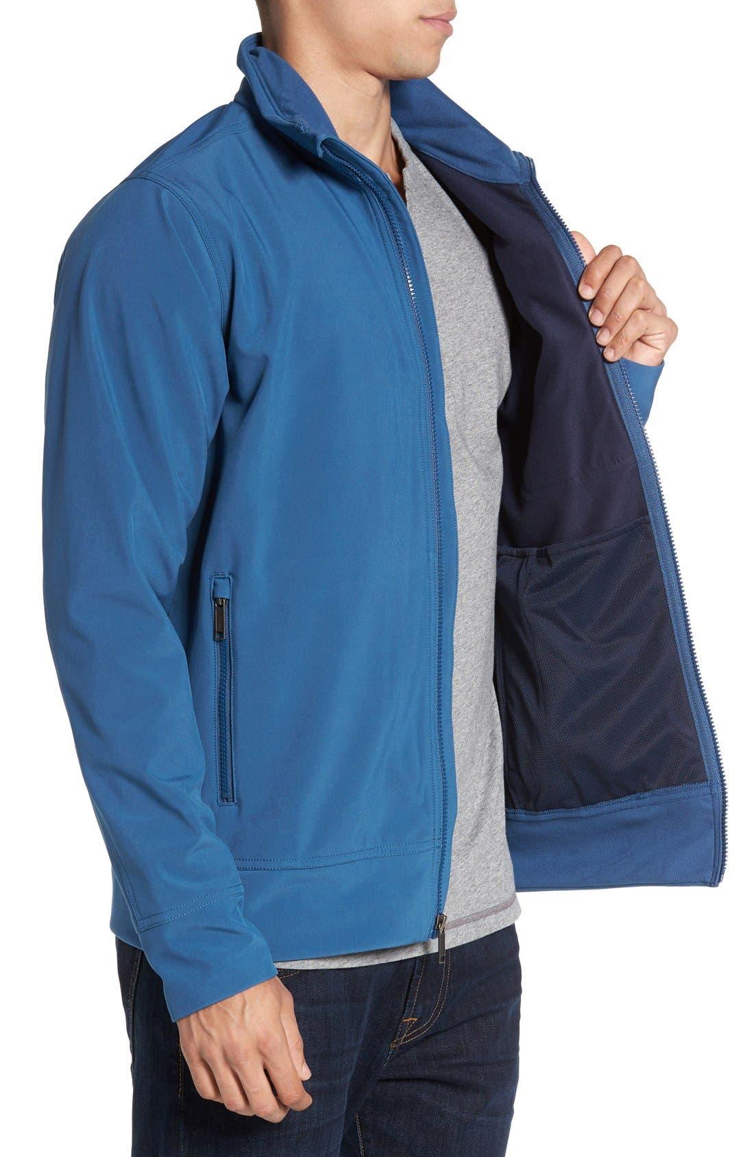 'Sidesend' Regular Fit Water Repellent Jacket,                             Alternate thumbnail 9, color,