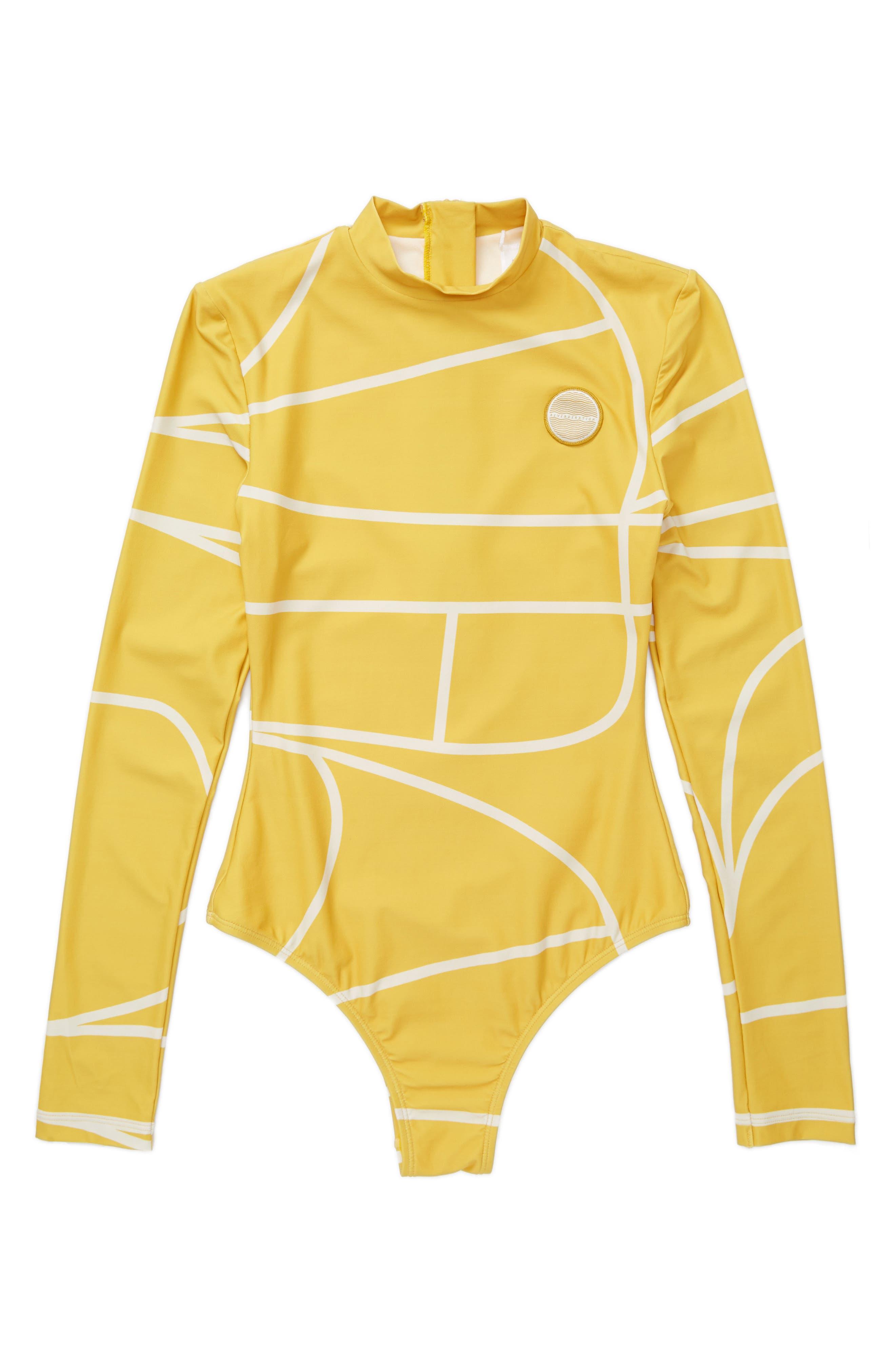 Babylon Rashguard Bodysuit, Main, color, 710