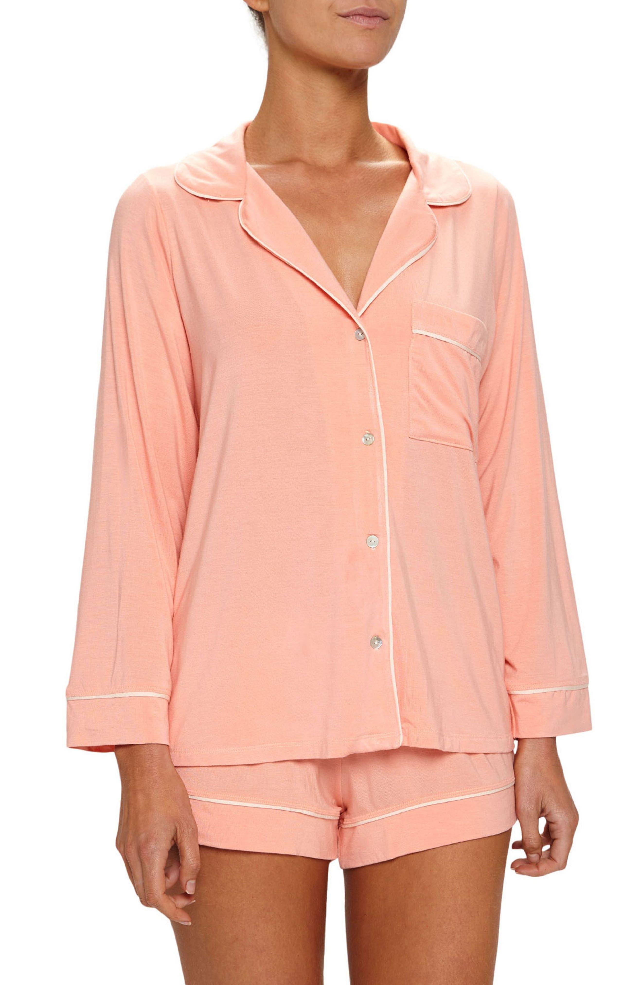 Gisele Crop Pajamas,                             Main thumbnail 5, color,