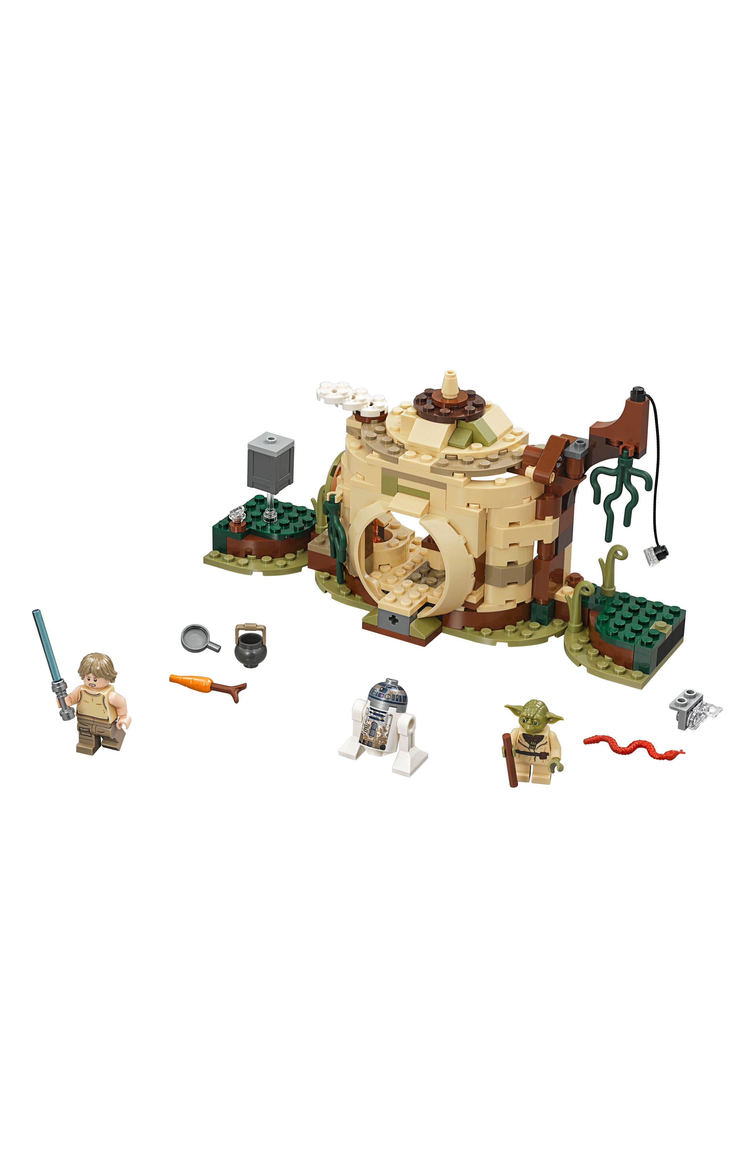 Star Wars<sup>®</sup> Yoda's Hut<sup>™</sup> - 75208,                             Main thumbnail 1, color,                             MULTI