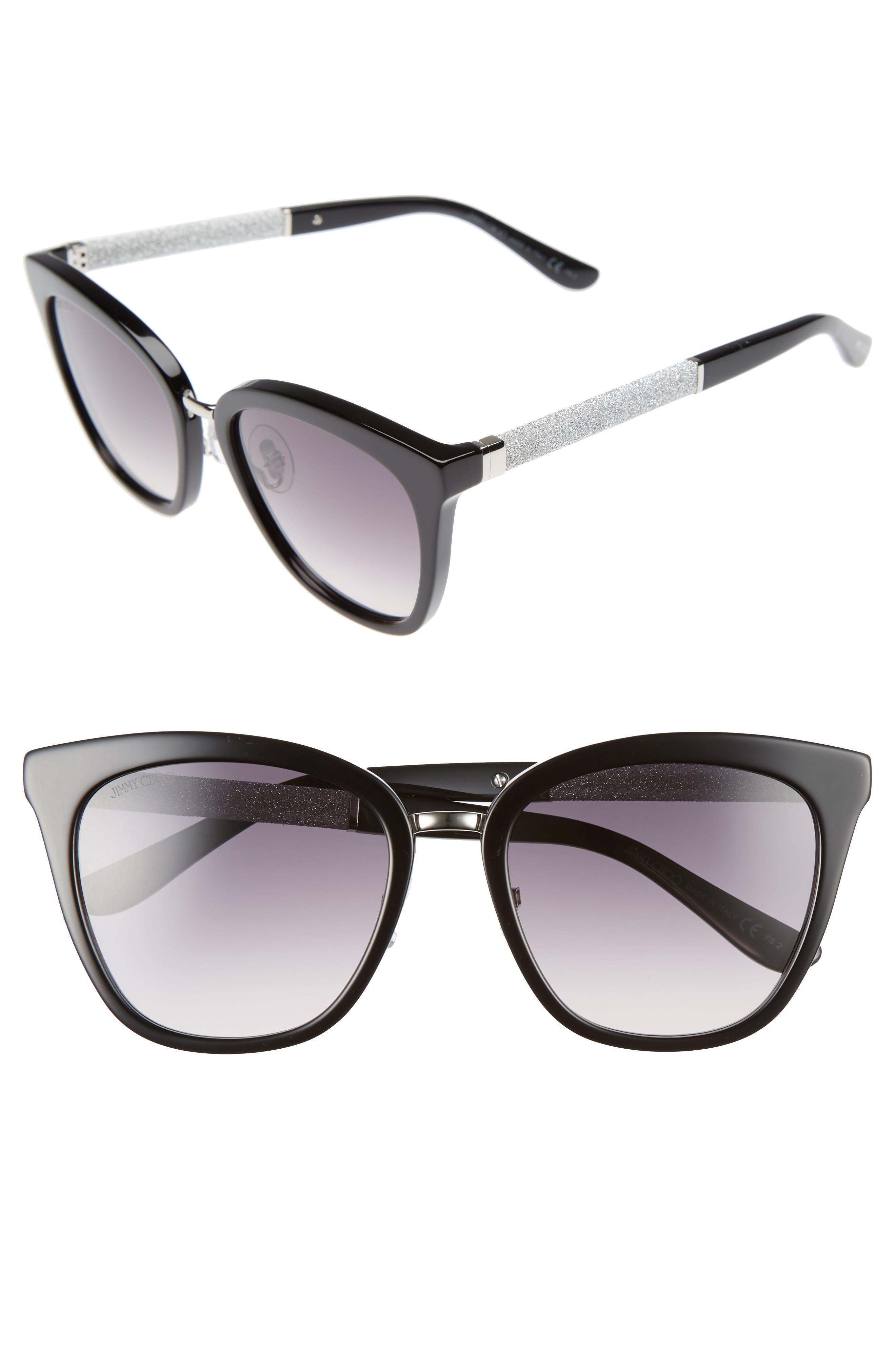 Fabry 53mm Sunglasses,                             Main thumbnail 1, color,                             001