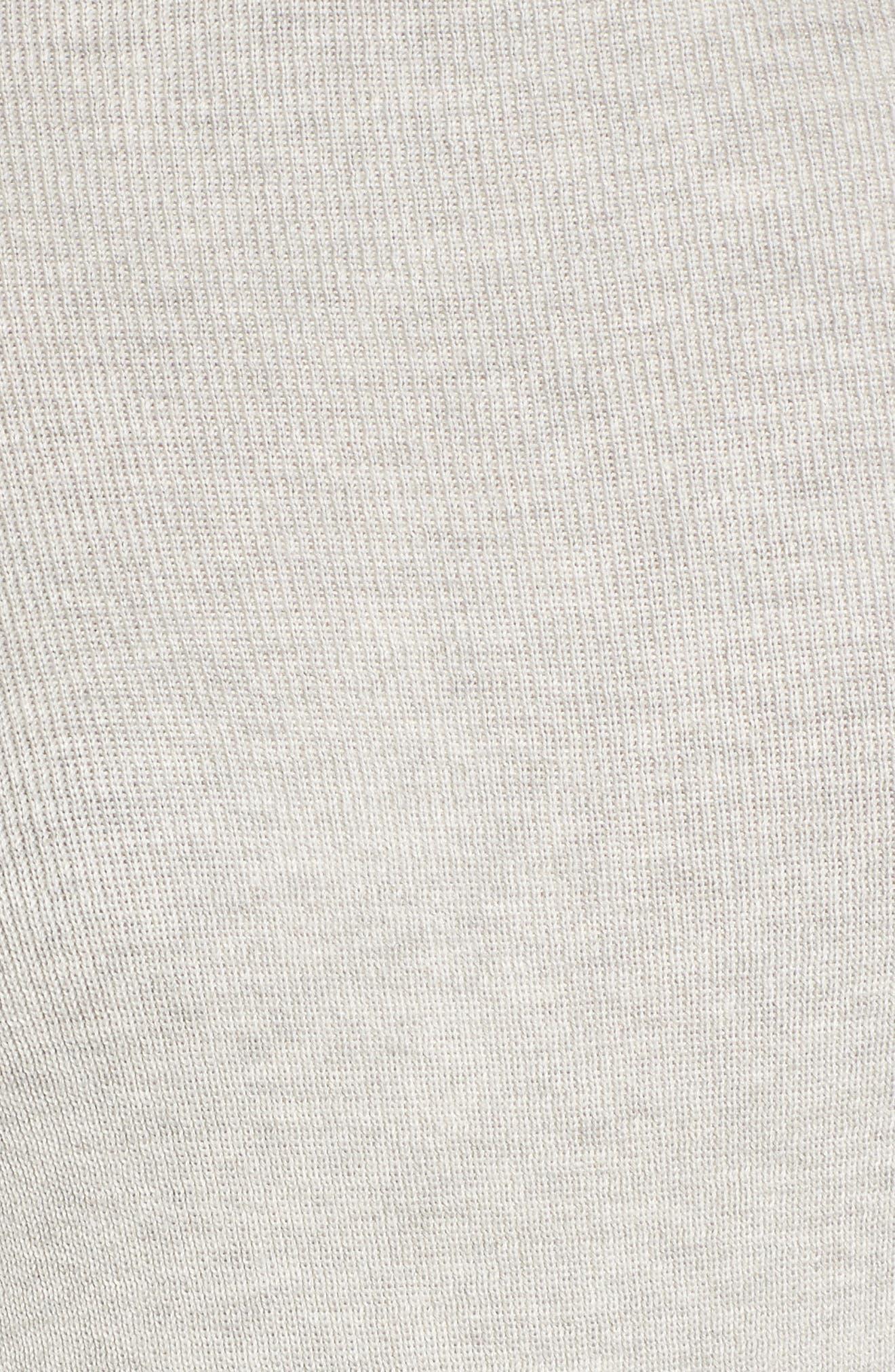 Bell Sleeve Rib Sweater,                             Alternate thumbnail 18, color,