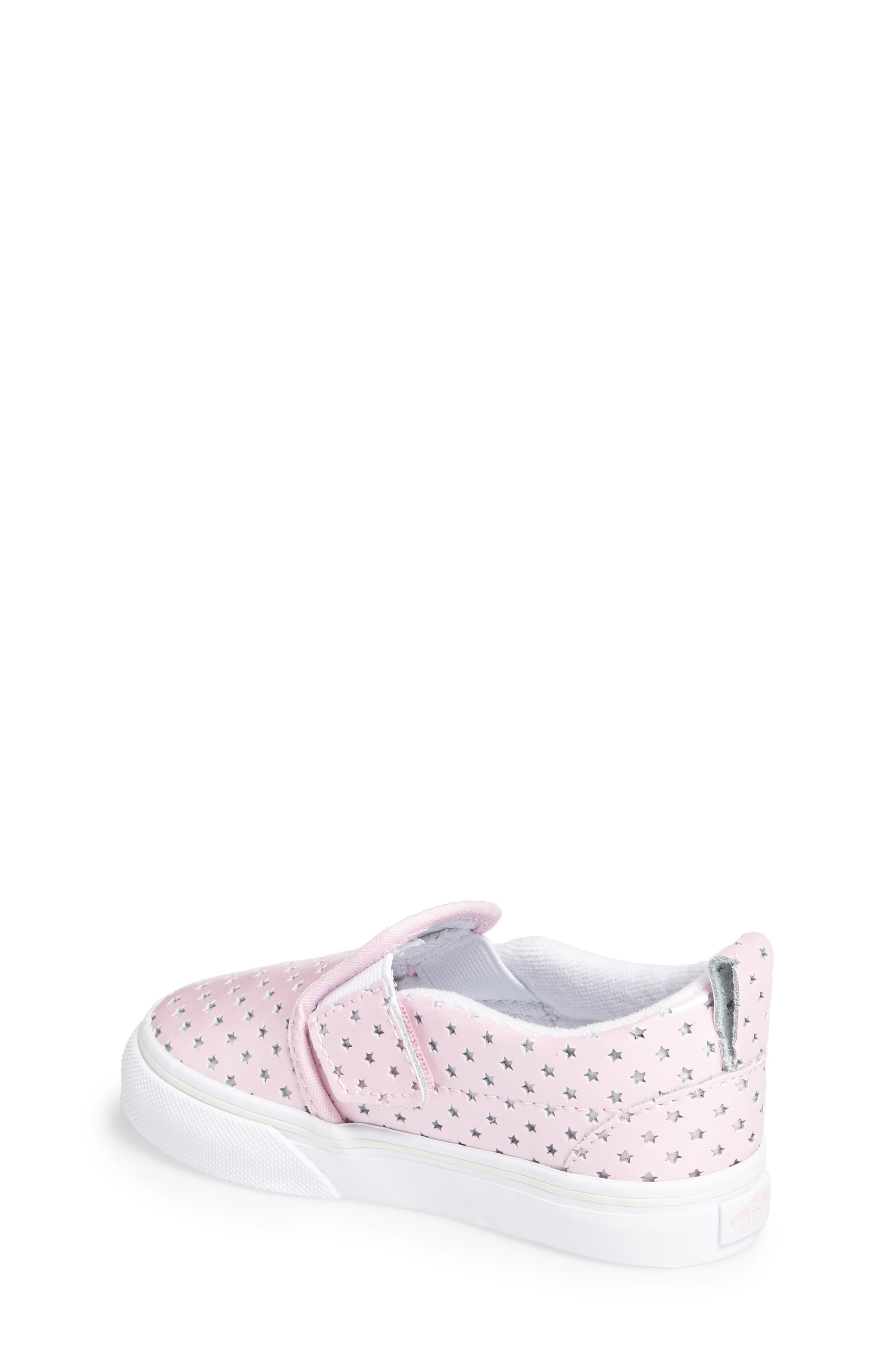 Classic Perforated Slip-On Sneaker,                             Alternate thumbnail 2, color,                             650