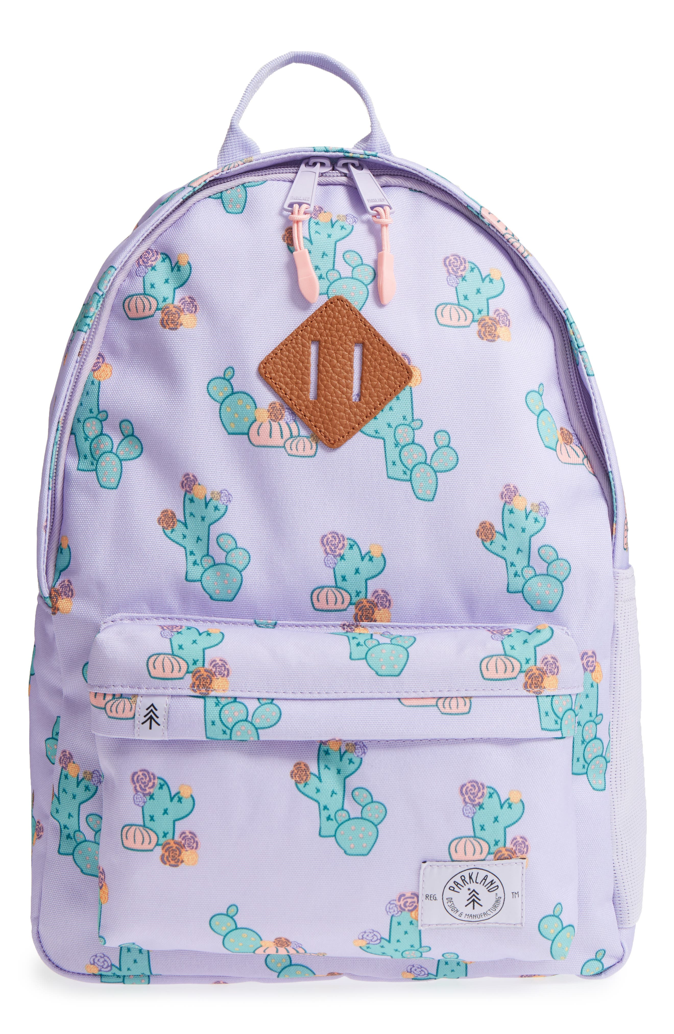 Bayside Cactus Flower Backpack,                             Main thumbnail 1, color,                             533