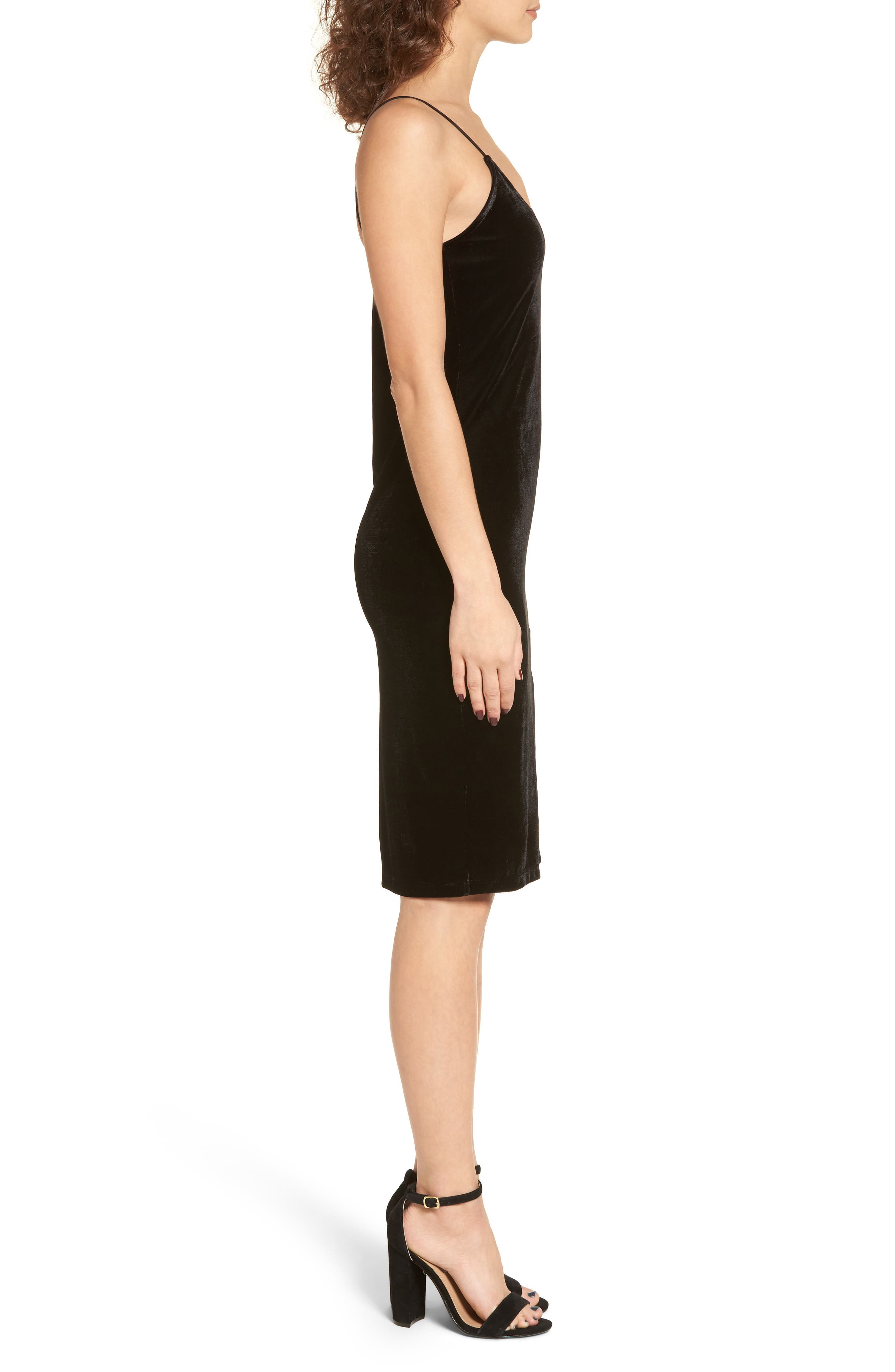 Blume Sheath Dress,                             Alternate thumbnail 3, color,                             001