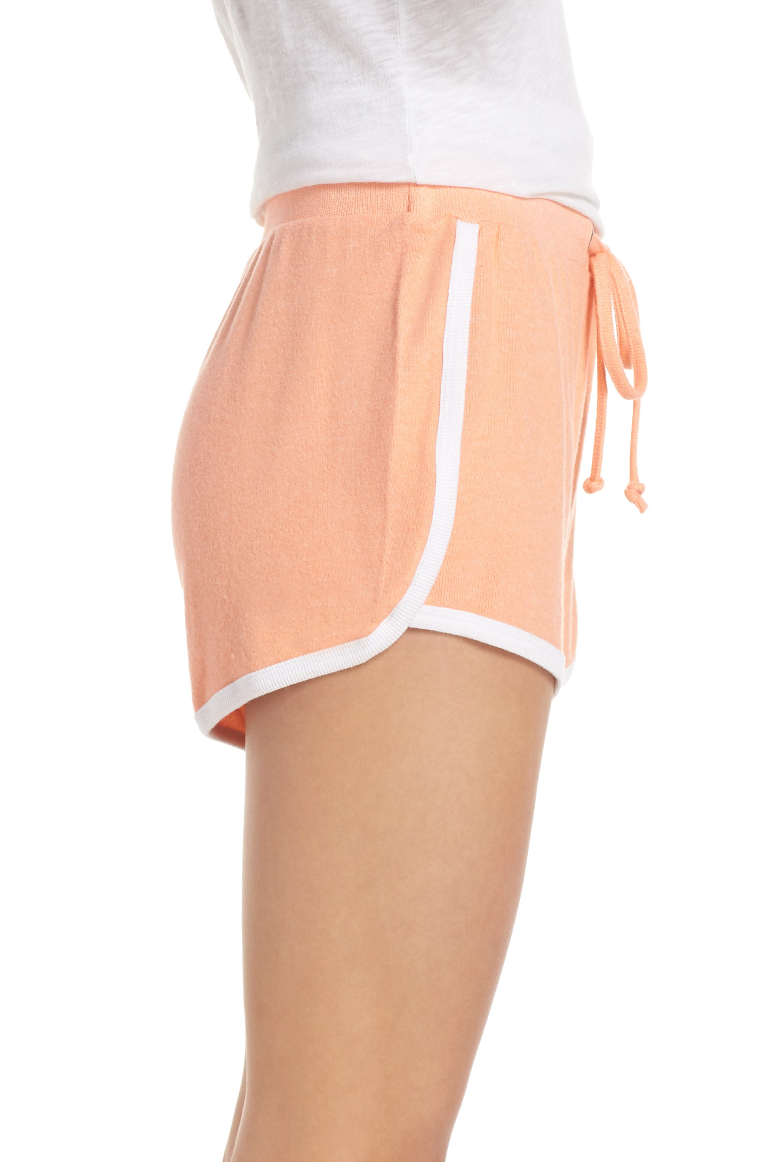 Too Cool Shorts,                             Alternate thumbnail 3, color,                             CORAL PINK