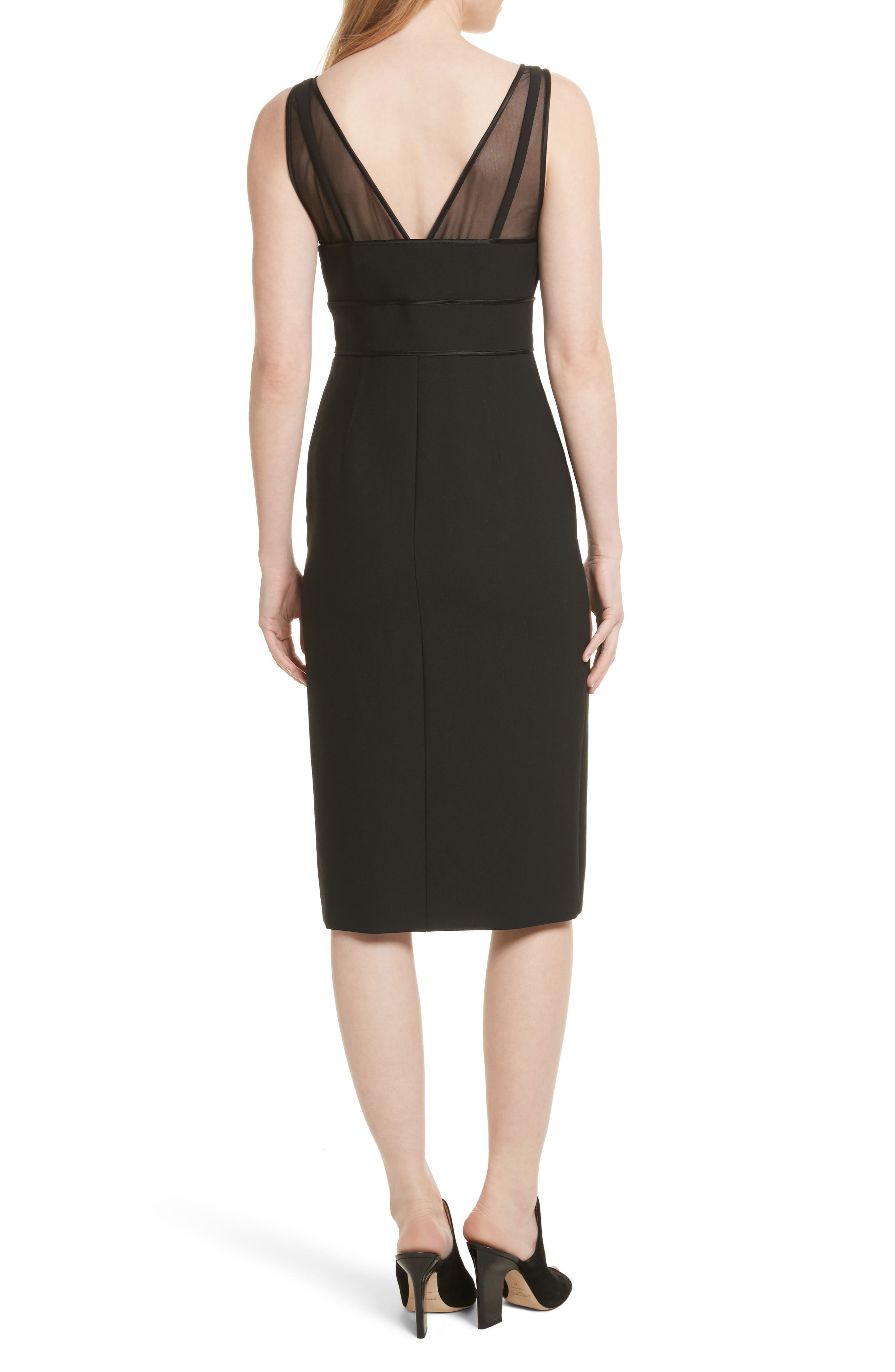 Lida Sheath Dress,                             Alternate thumbnail 2, color,                             001