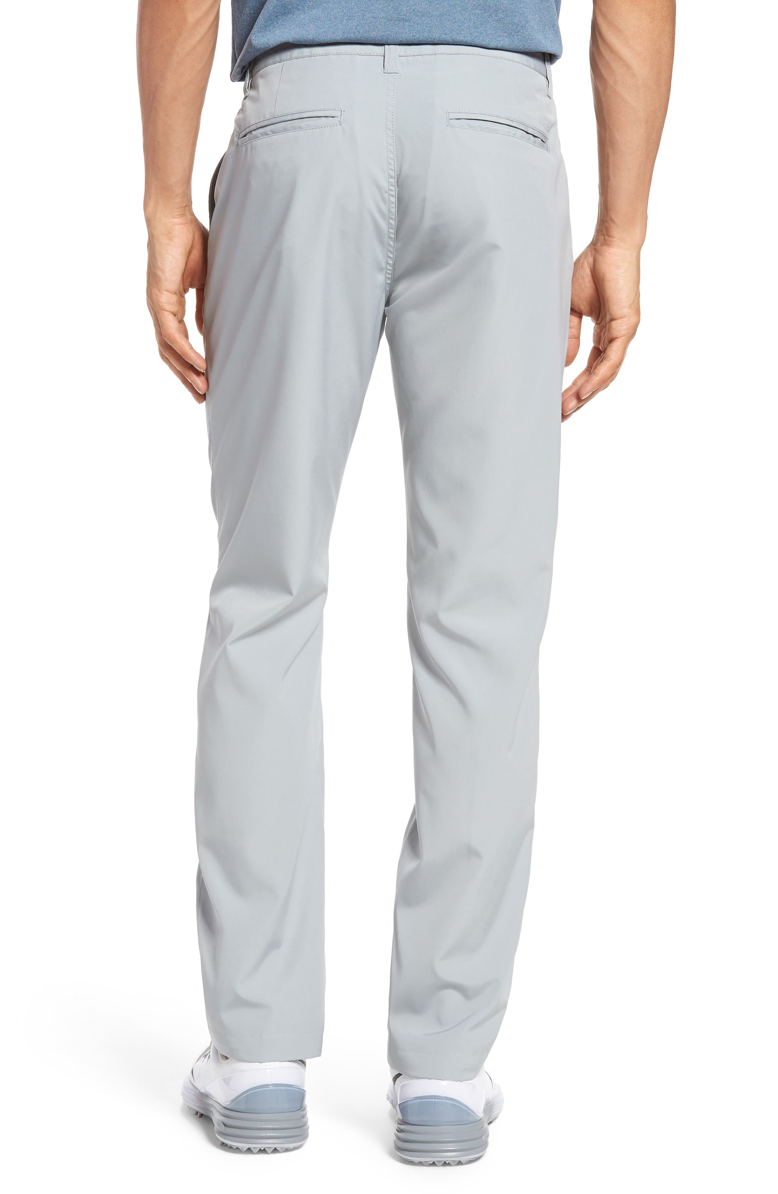Lightweight Highland Slim Fit Golf Pants,                             Alternate thumbnail 2, color,                             PEWTER