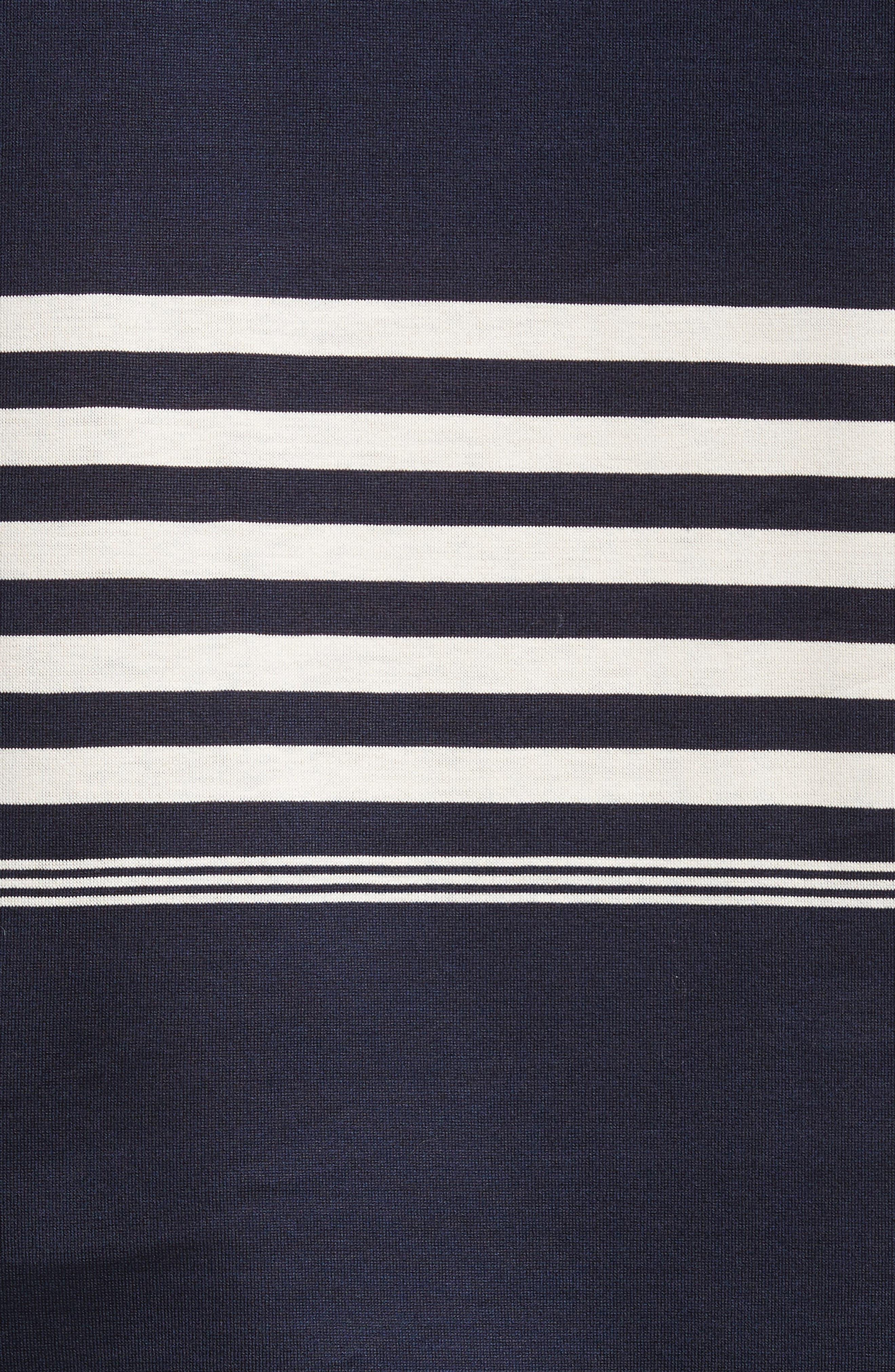 Stripe Long Sleeve T-Shirt,                             Alternate thumbnail 5, color,                             410