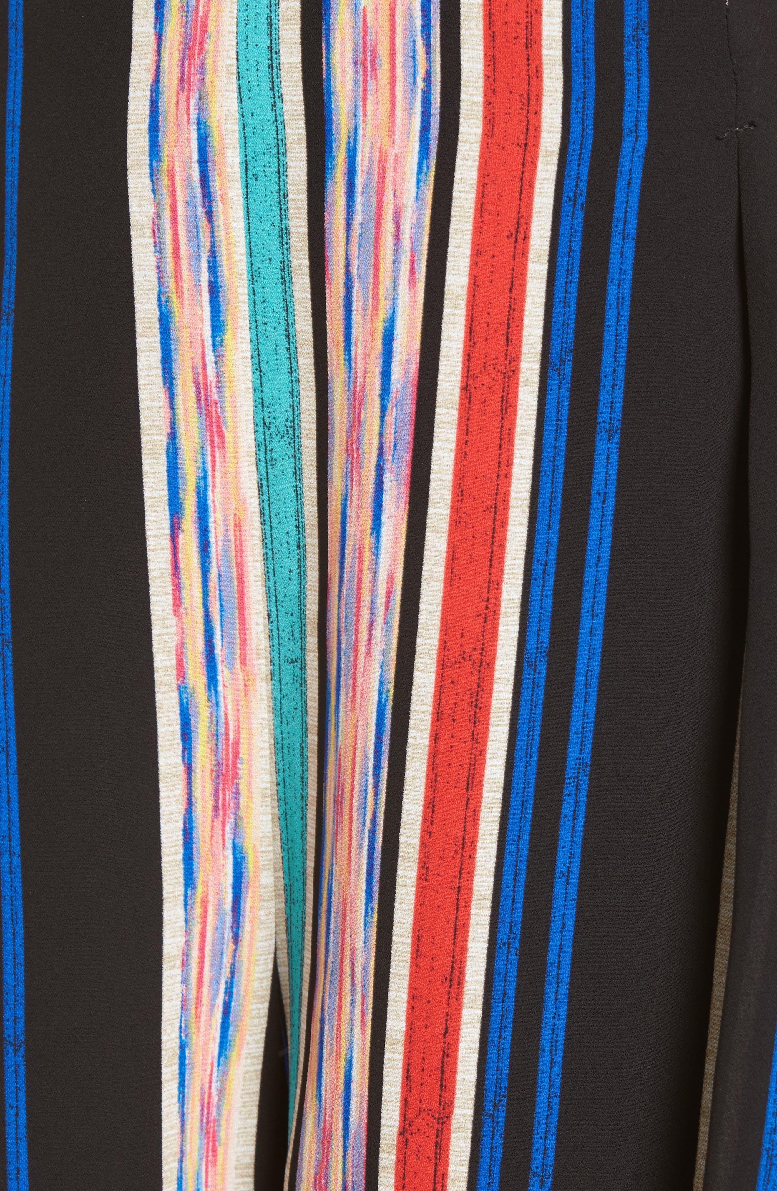 Pleat Front High Waist Shorts,                             Alternate thumbnail 5, color,                             001