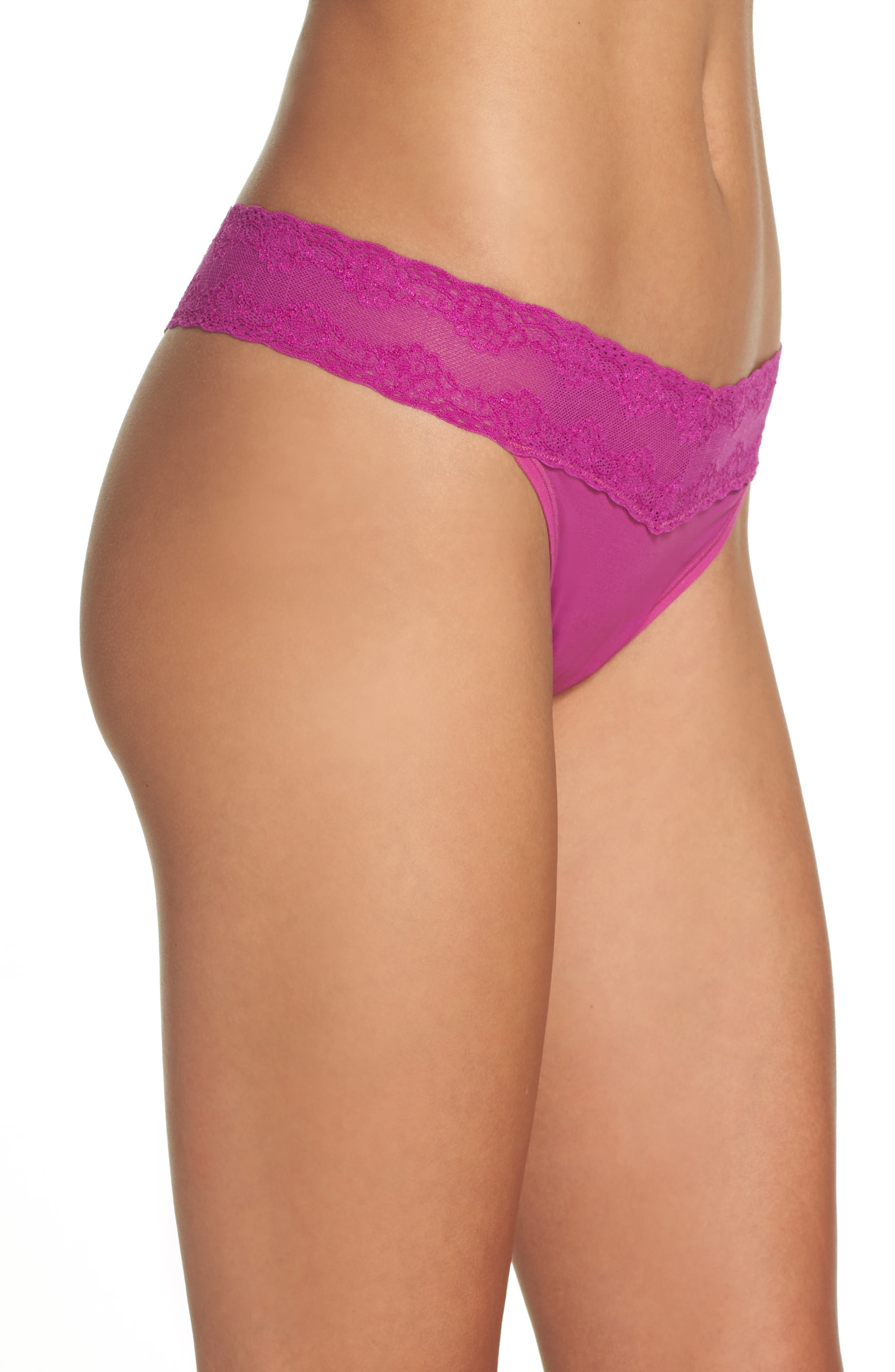 Bliss Perfection Thong,                             Alternate thumbnail 275, color,