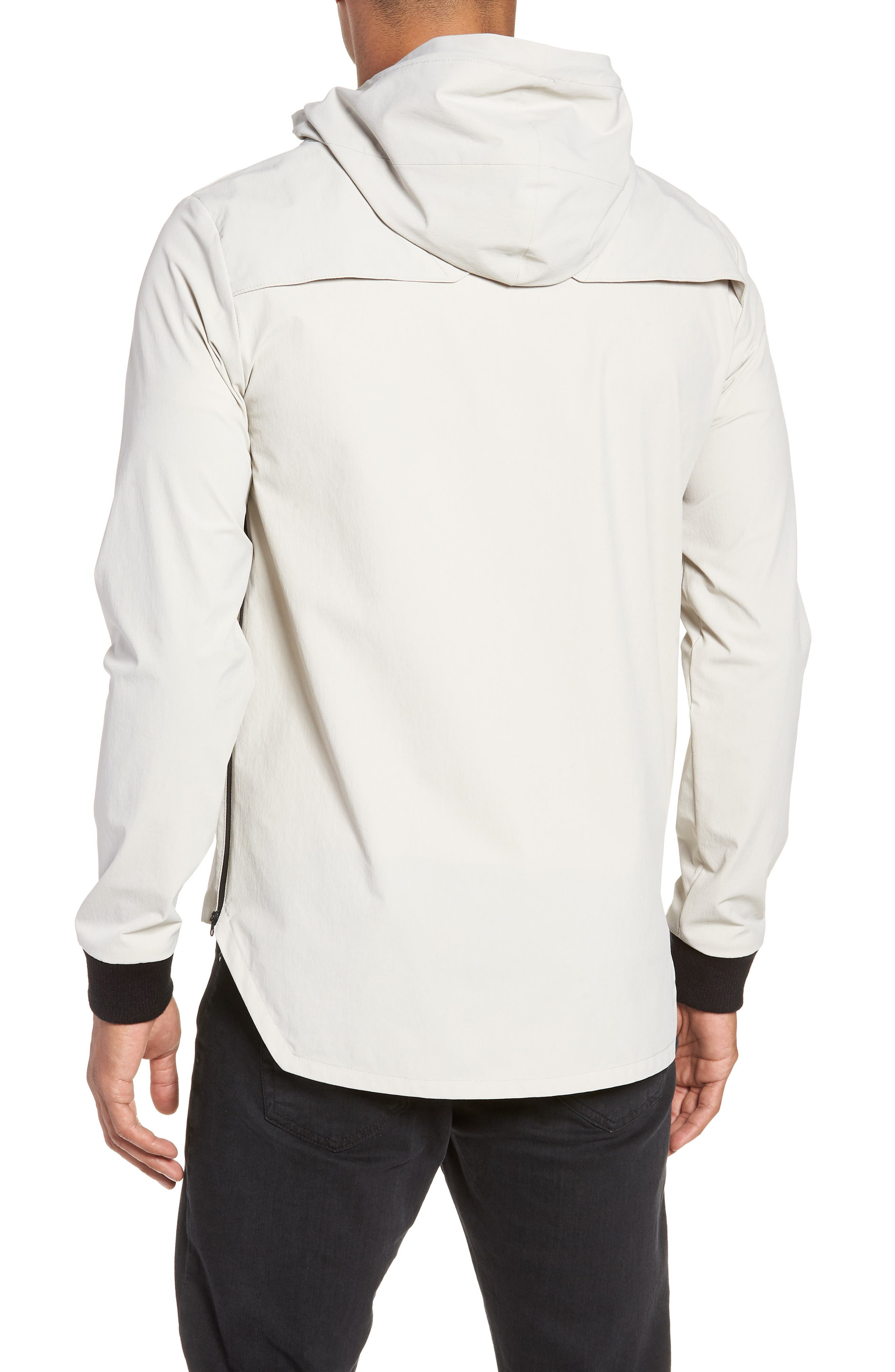 Pullover with Removable Hood,                             Alternate thumbnail 2, color,                             TAN