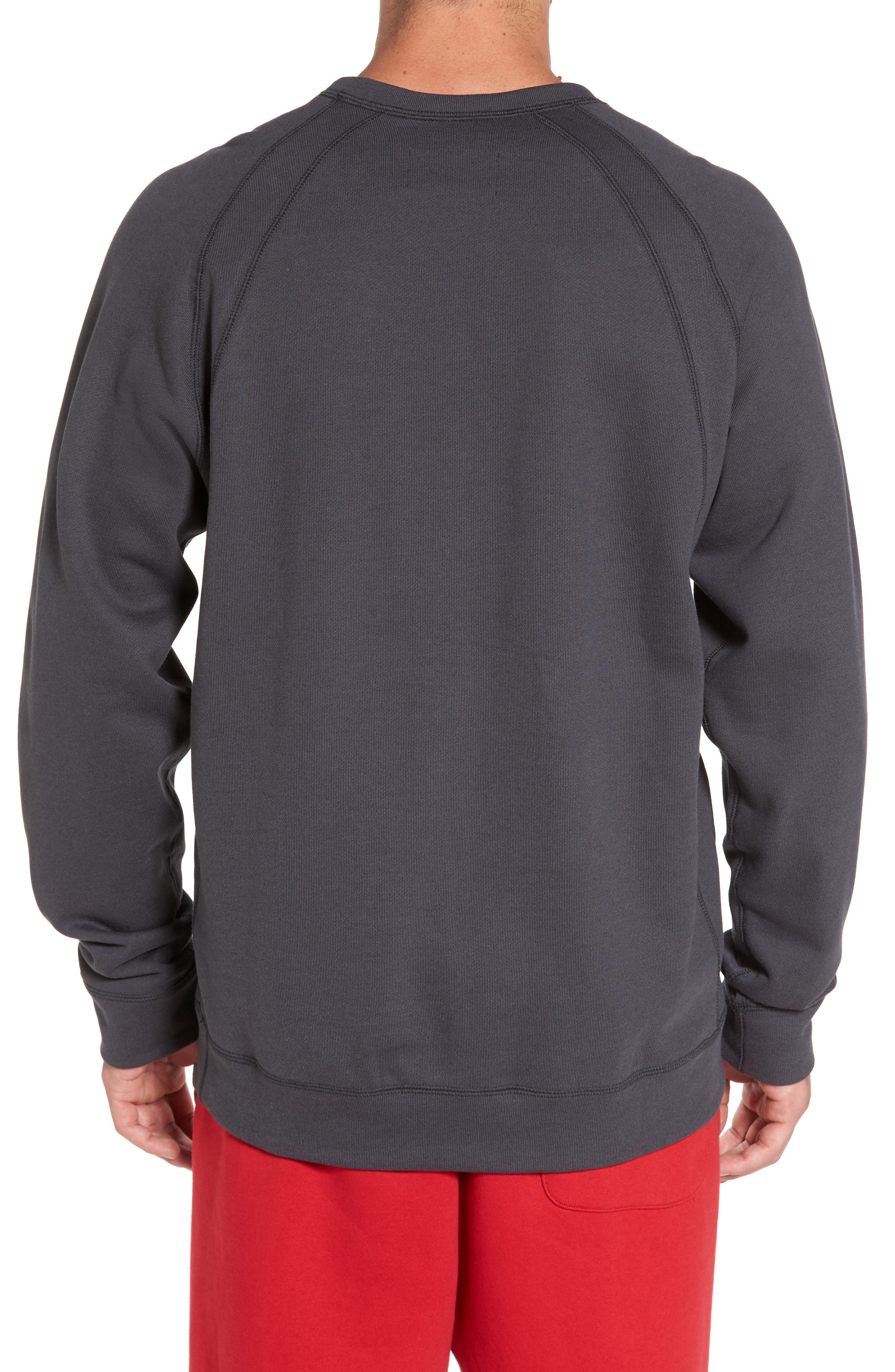 Jordan Sportswear Wings Pullover,                             Alternate thumbnail 4, color,