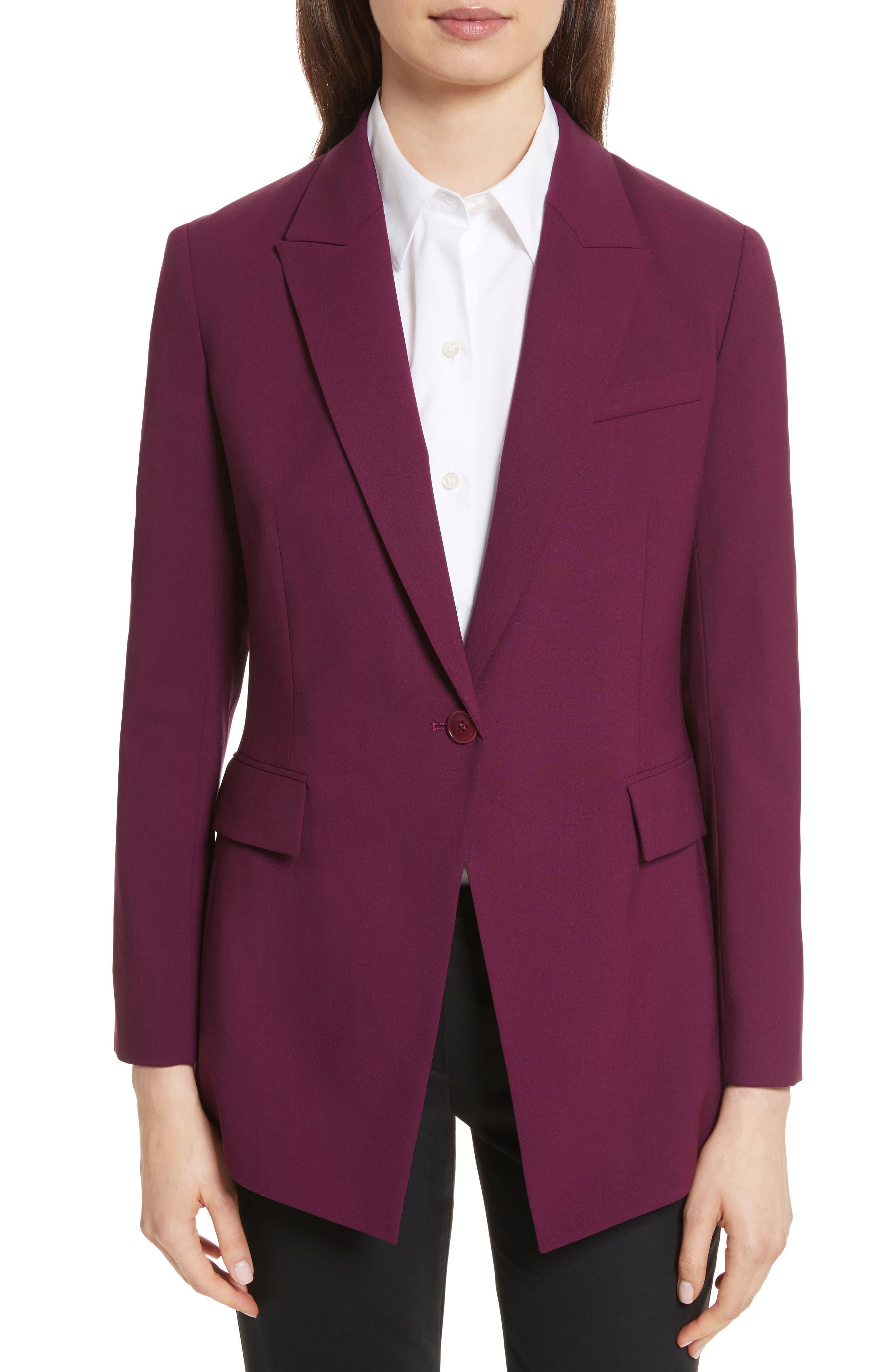 Etienette B Good Wool Suit Jacket,                             Main thumbnail 5, color,