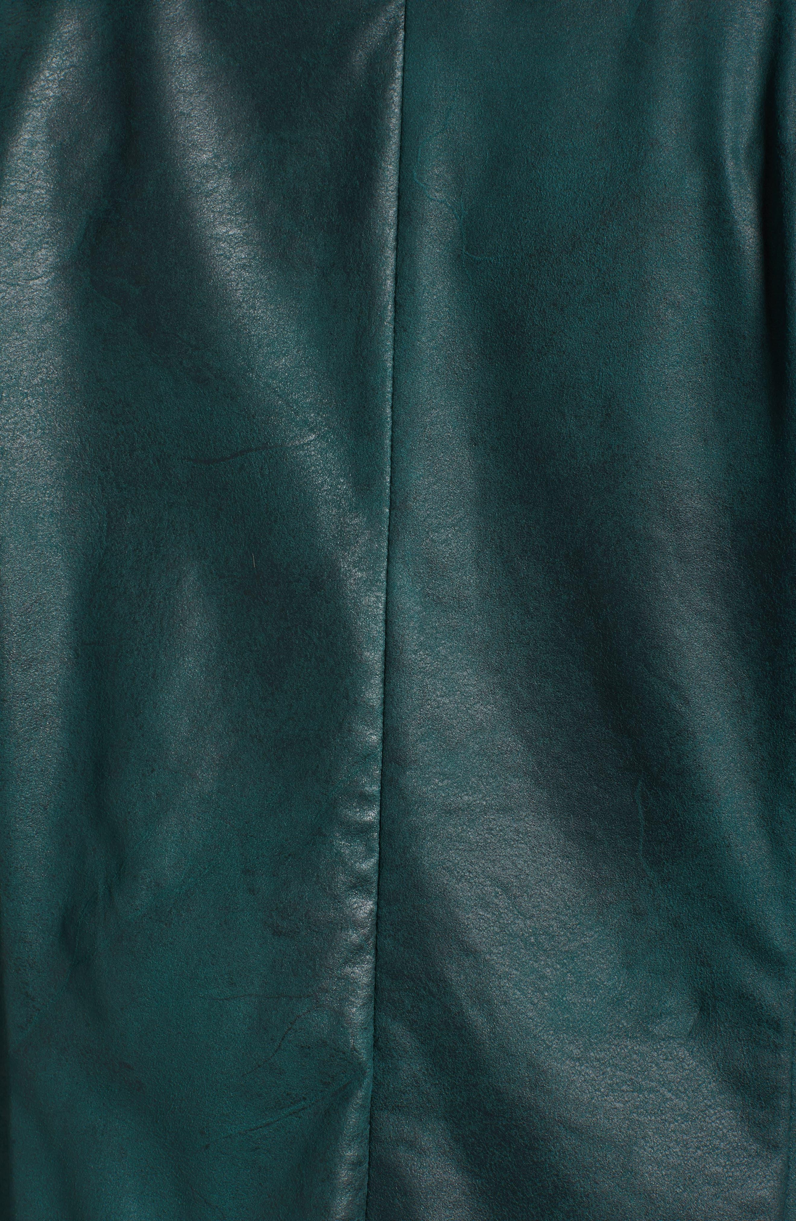Stretch Faux Suede Jacket,                             Alternate thumbnail 9, color,
