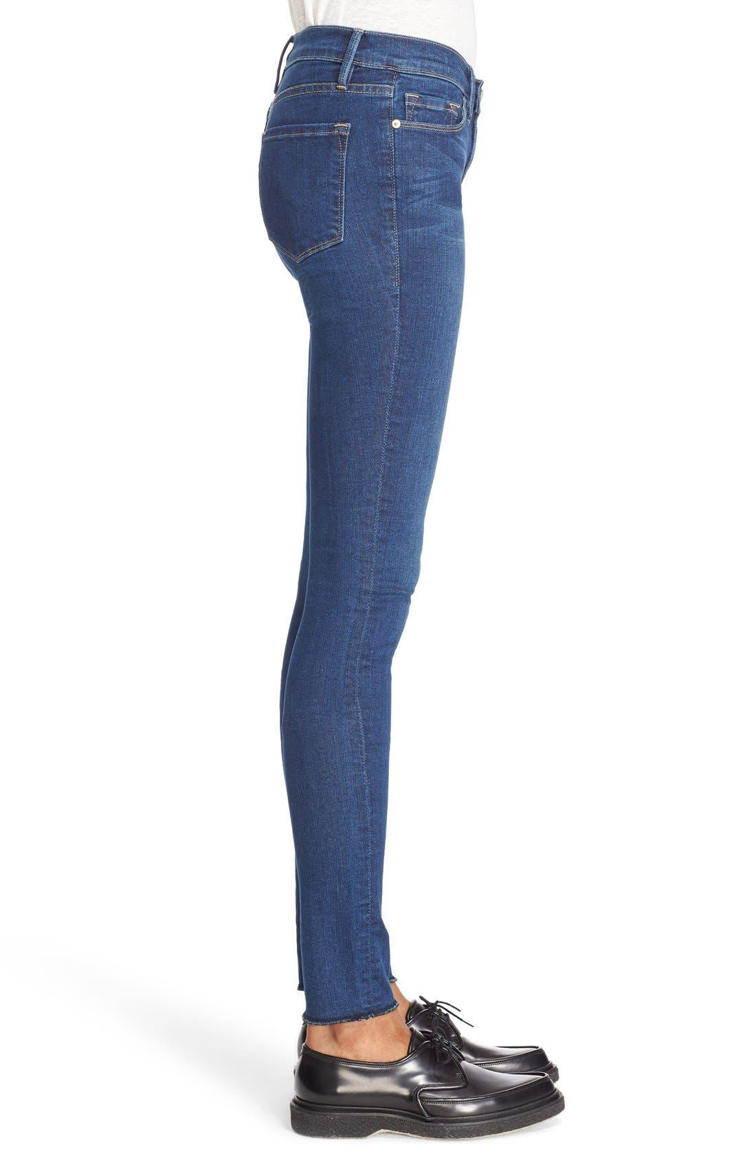 FRAME,                             Forever Karlie Skinny Jeans,                             Alternate thumbnail 4, color,                             401