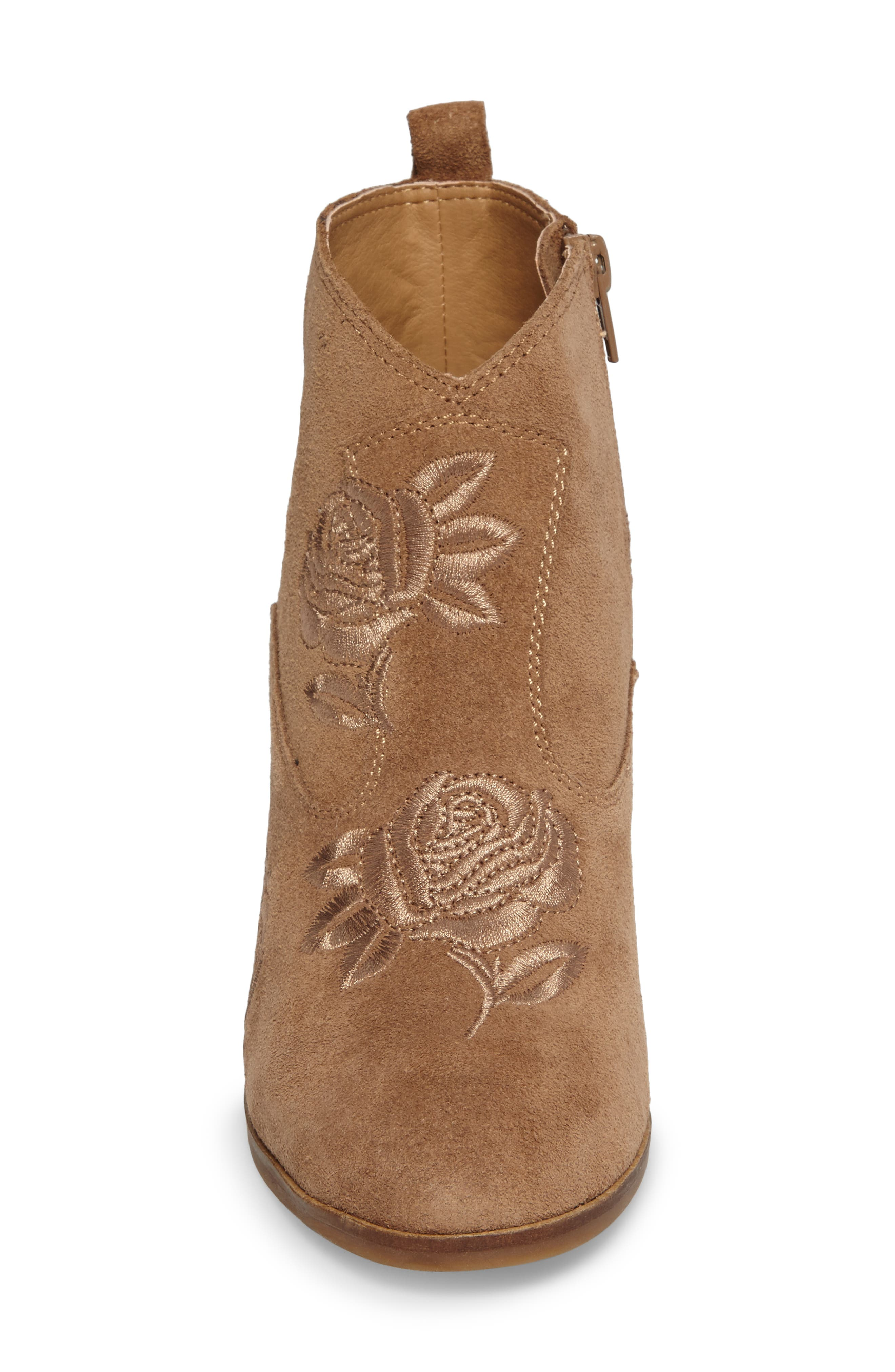 Pexton Embroidered Bootie,                             Alternate thumbnail 15, color,