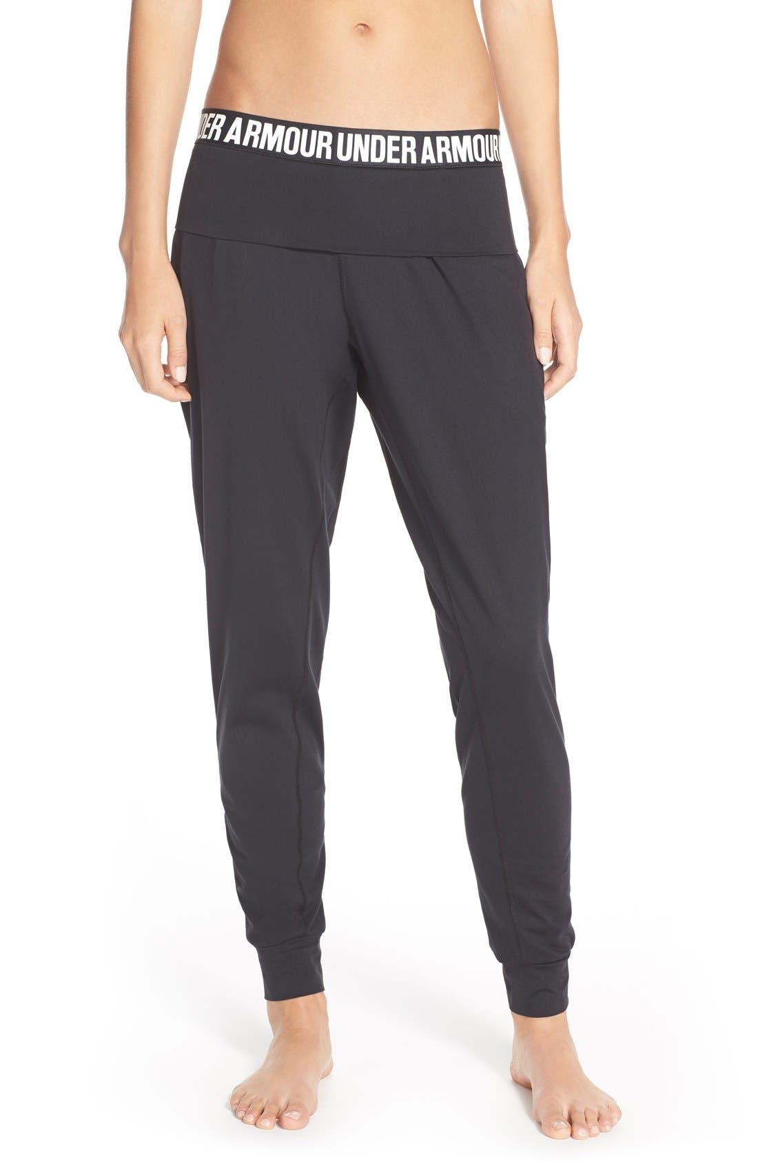 'Downtown' Knit Jogger Pants,                             Main thumbnail 1, color,                             001