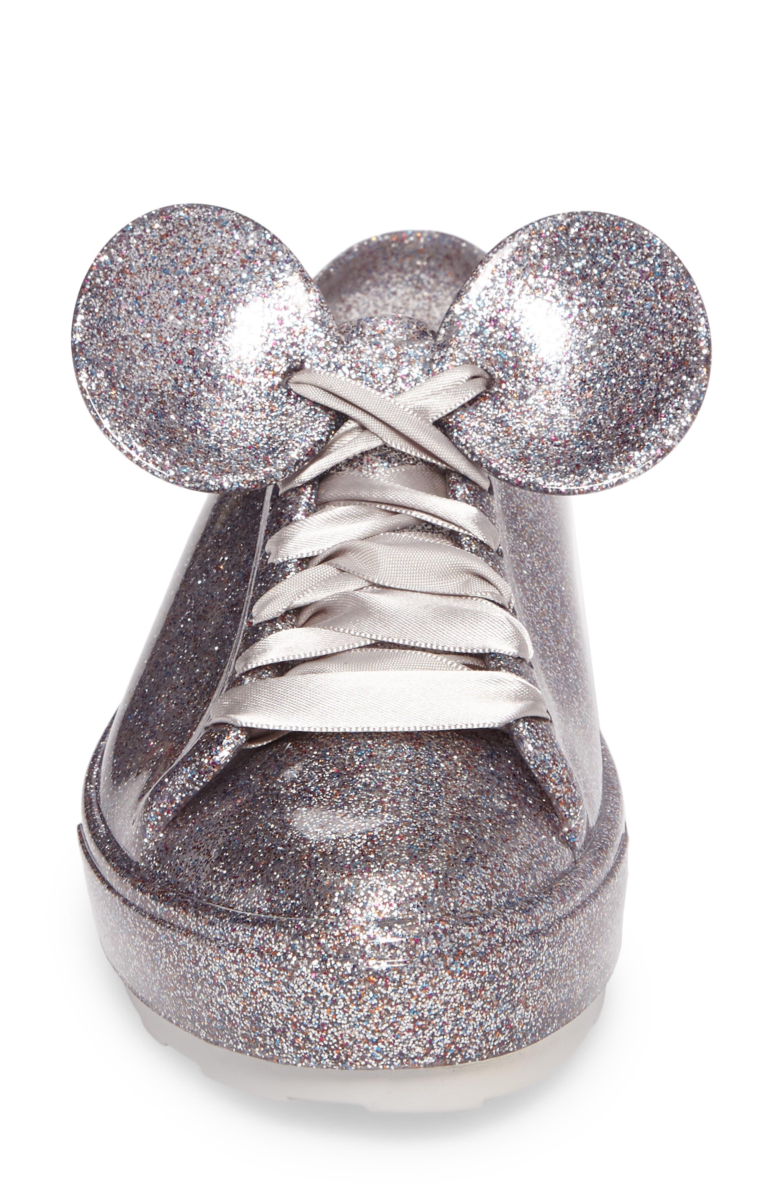 Be Disney Mouse Ear Sneaker,                             Alternate thumbnail 4, color,                             049