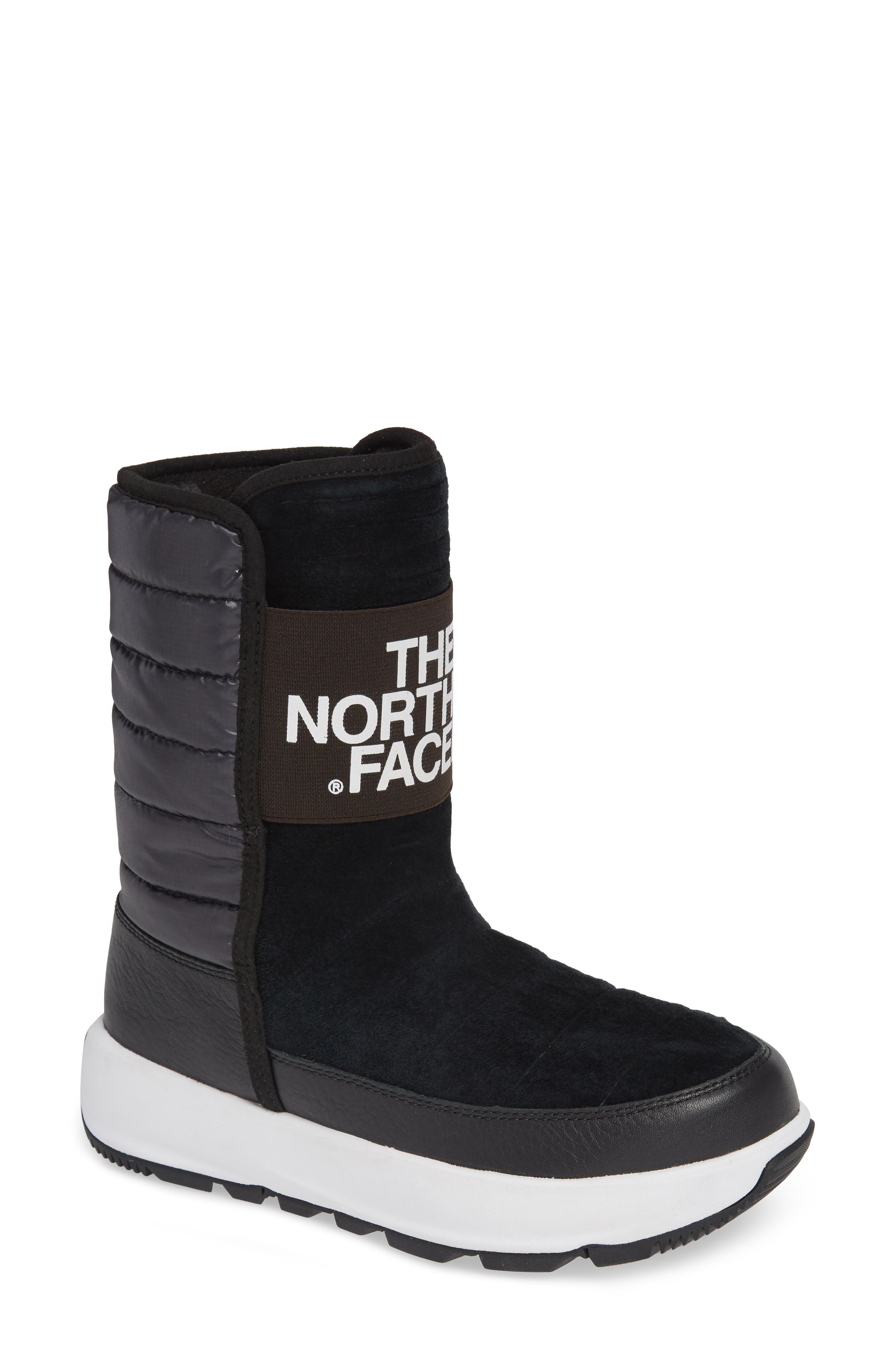 The North Face Ozone Park Waterproof Boot, Black