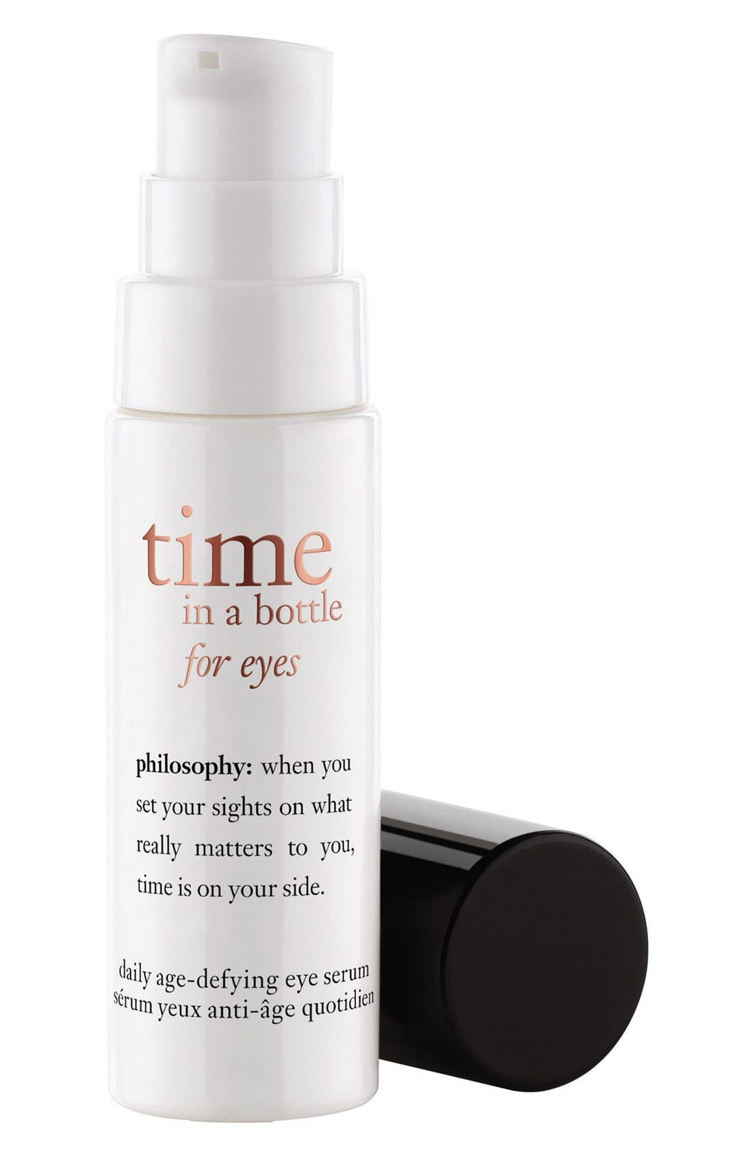 'time in a bottle for eyes' daily age-defying eye serum,                             Alternate thumbnail 2, color,                             000