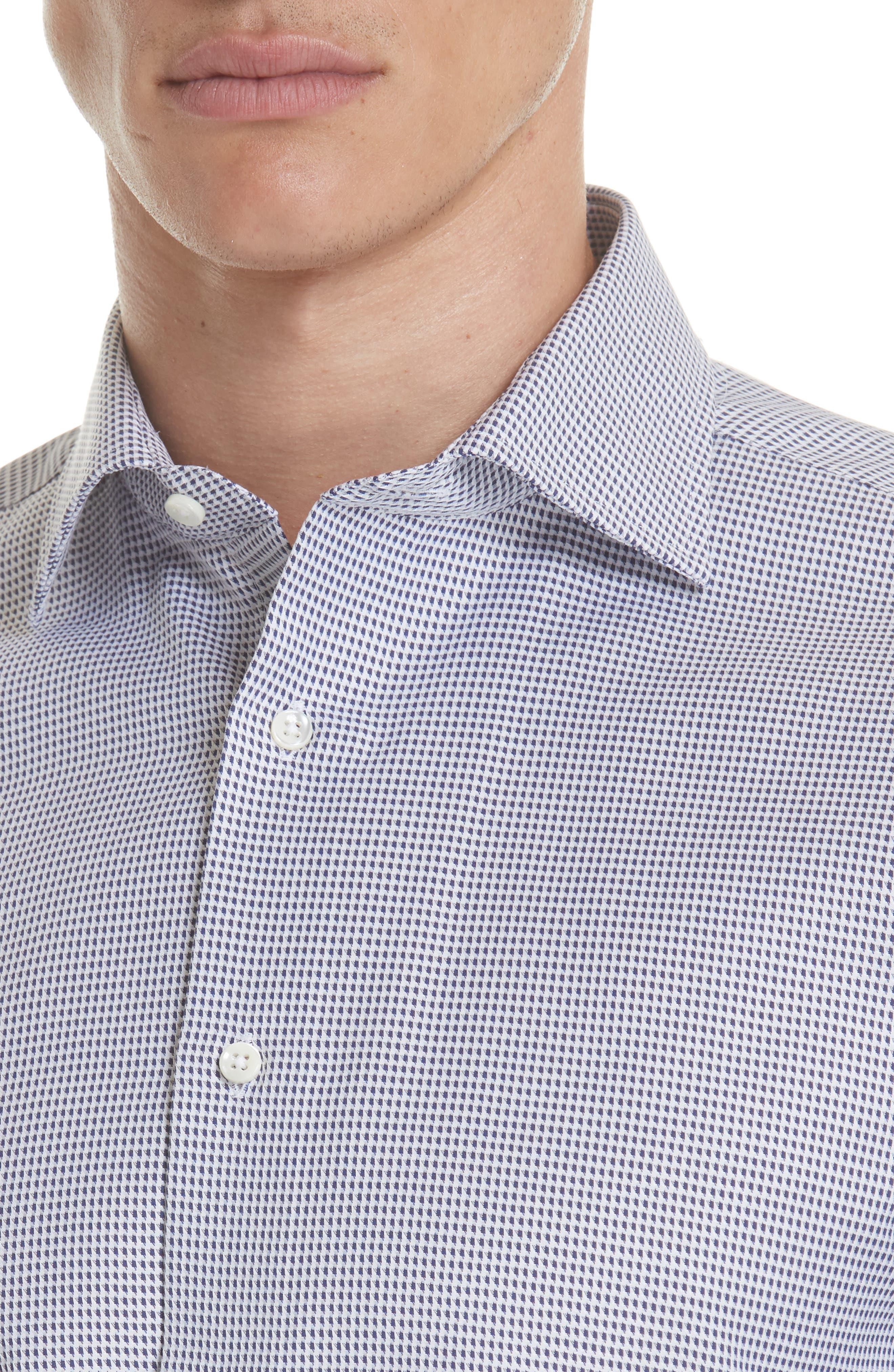 Regular Fit Print Dress Shirt,                             Alternate thumbnail 2, color,                             401