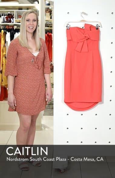 Harper Knotted Strapless Minidress, sales video thumbnail