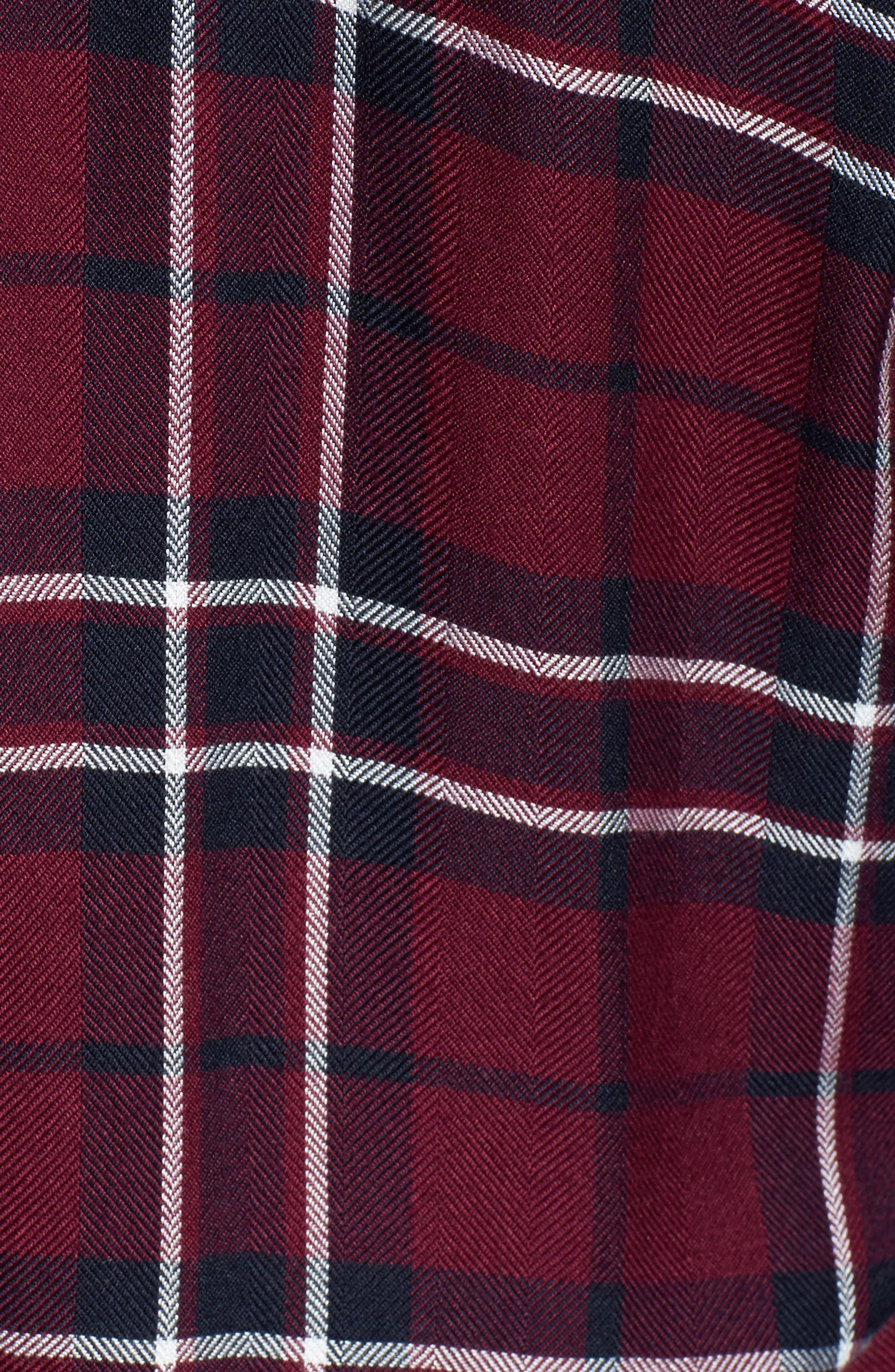 Hunter Plaid Shirt,                             Alternate thumbnail 632, color,