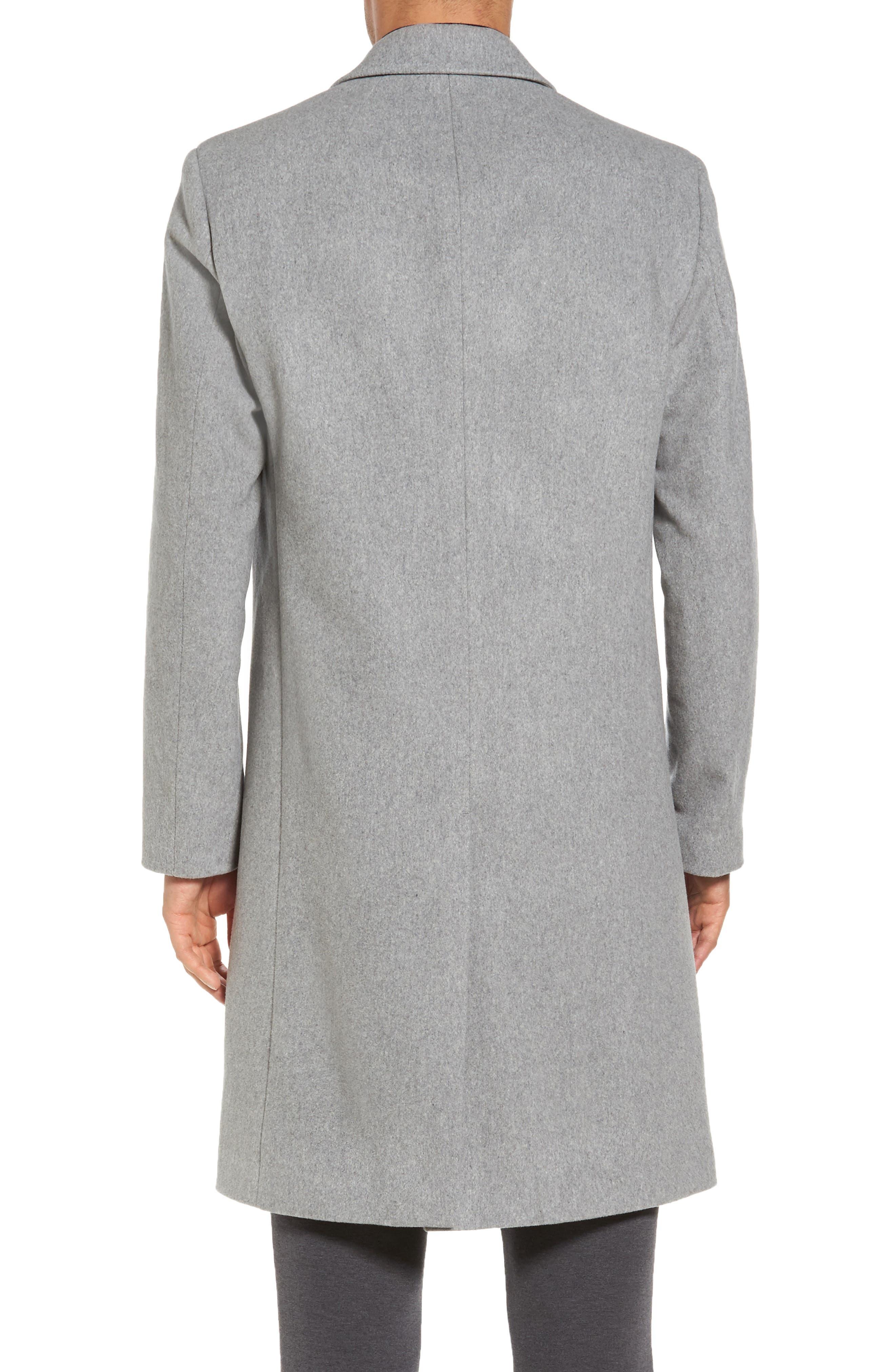 Bower Melton Wool Blend Topcoat,                             Alternate thumbnail 4, color,