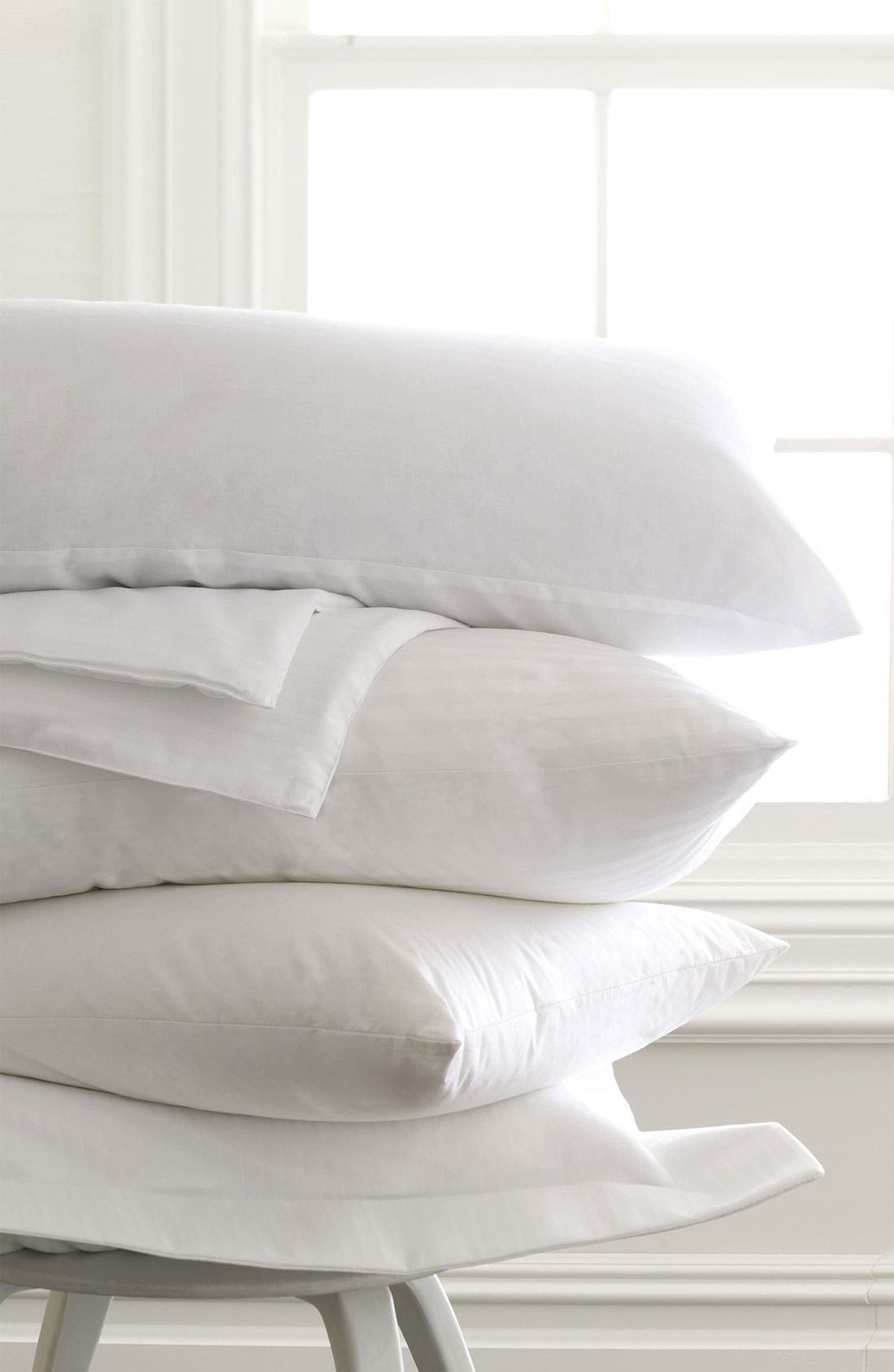 Feather & Down Pillow,                             Alternate thumbnail 3, color,                             WHI