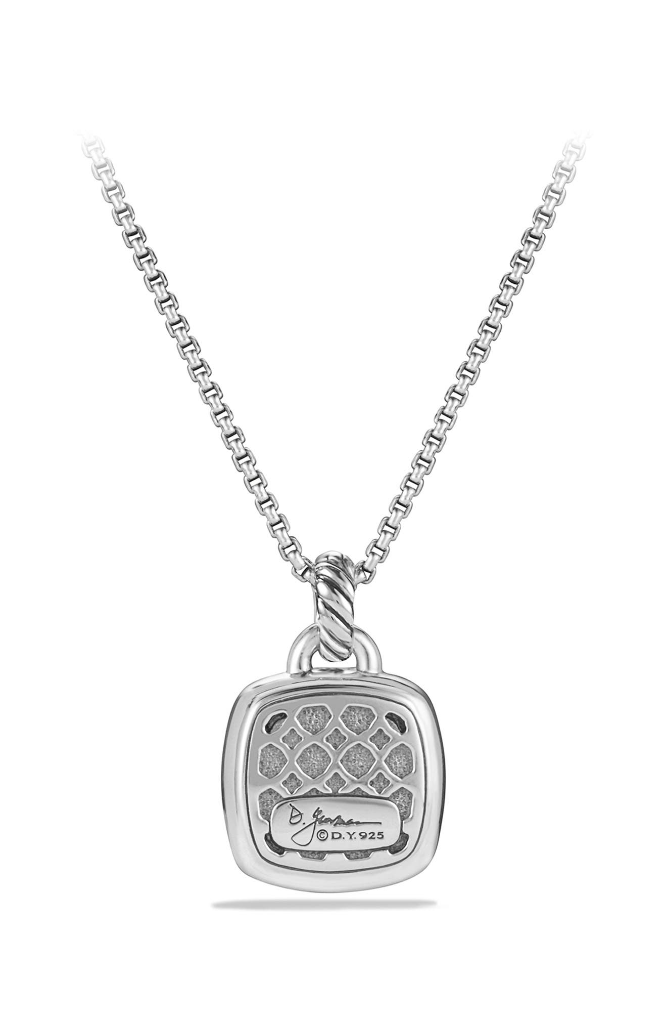 'Albion' Pendant with Semiprecious Stone and Diamonds,                             Alternate thumbnail 5, color,                             PRASIOLITE