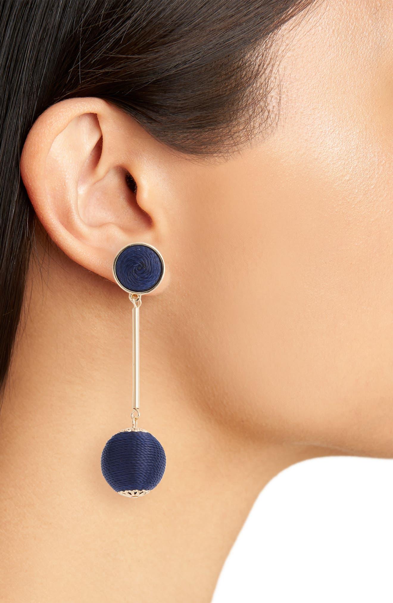 Mod Ball Drop Earrings,                             Alternate thumbnail 4, color,