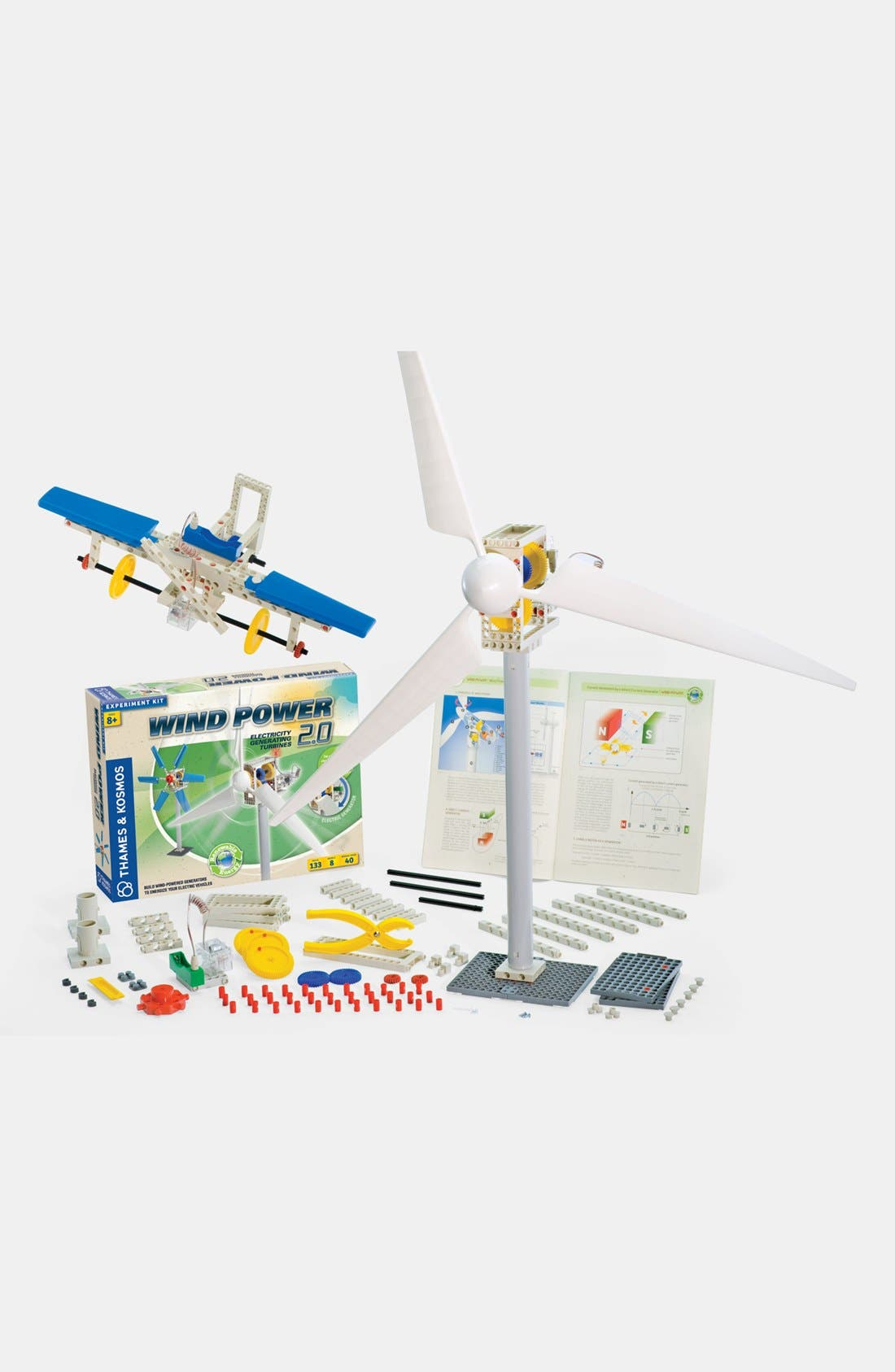 Boys Thames  Kosmos Wind Power 20 Building Set