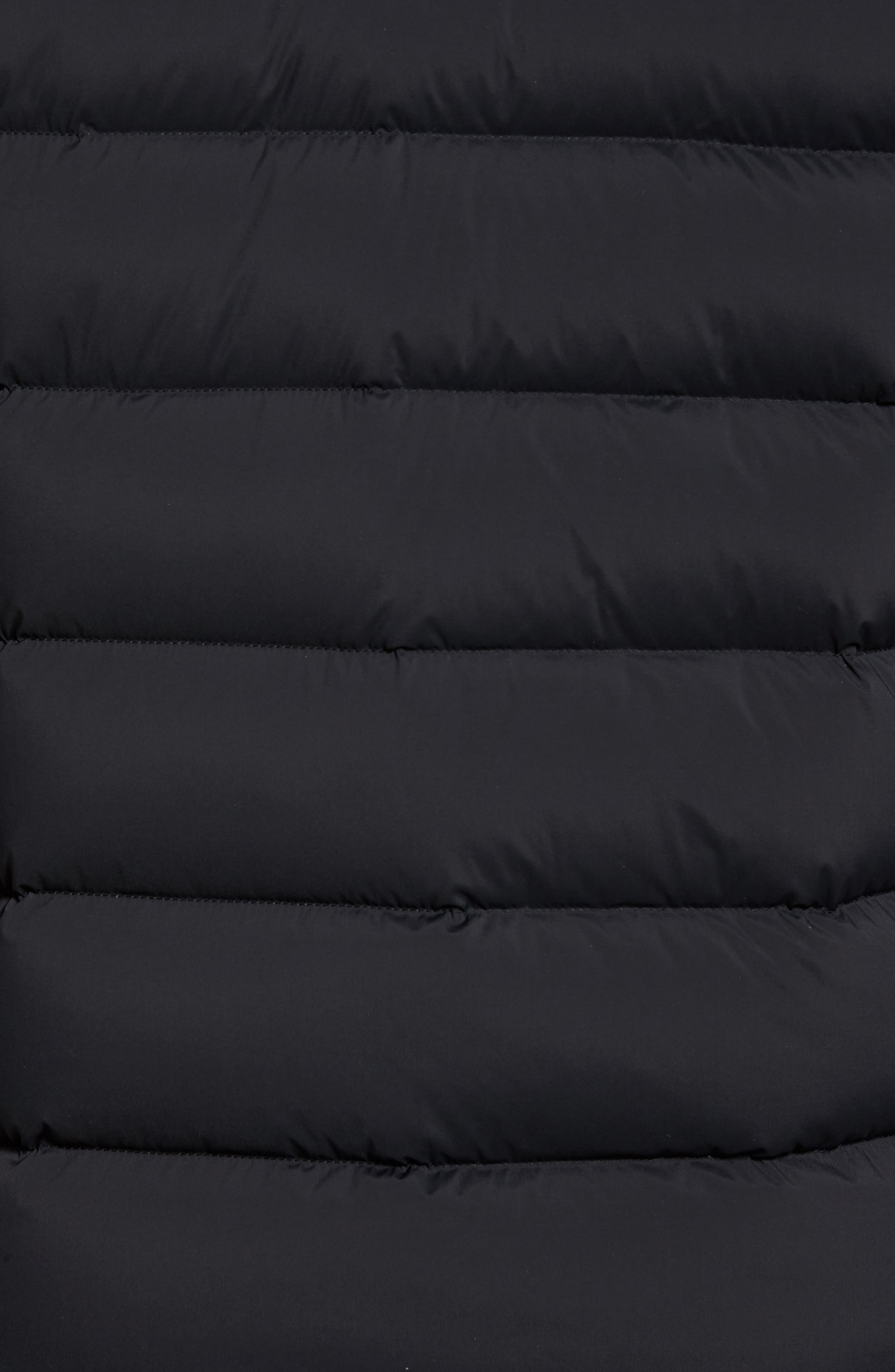 Quilted Down Jacket,                             Alternate thumbnail 5, color,                             001