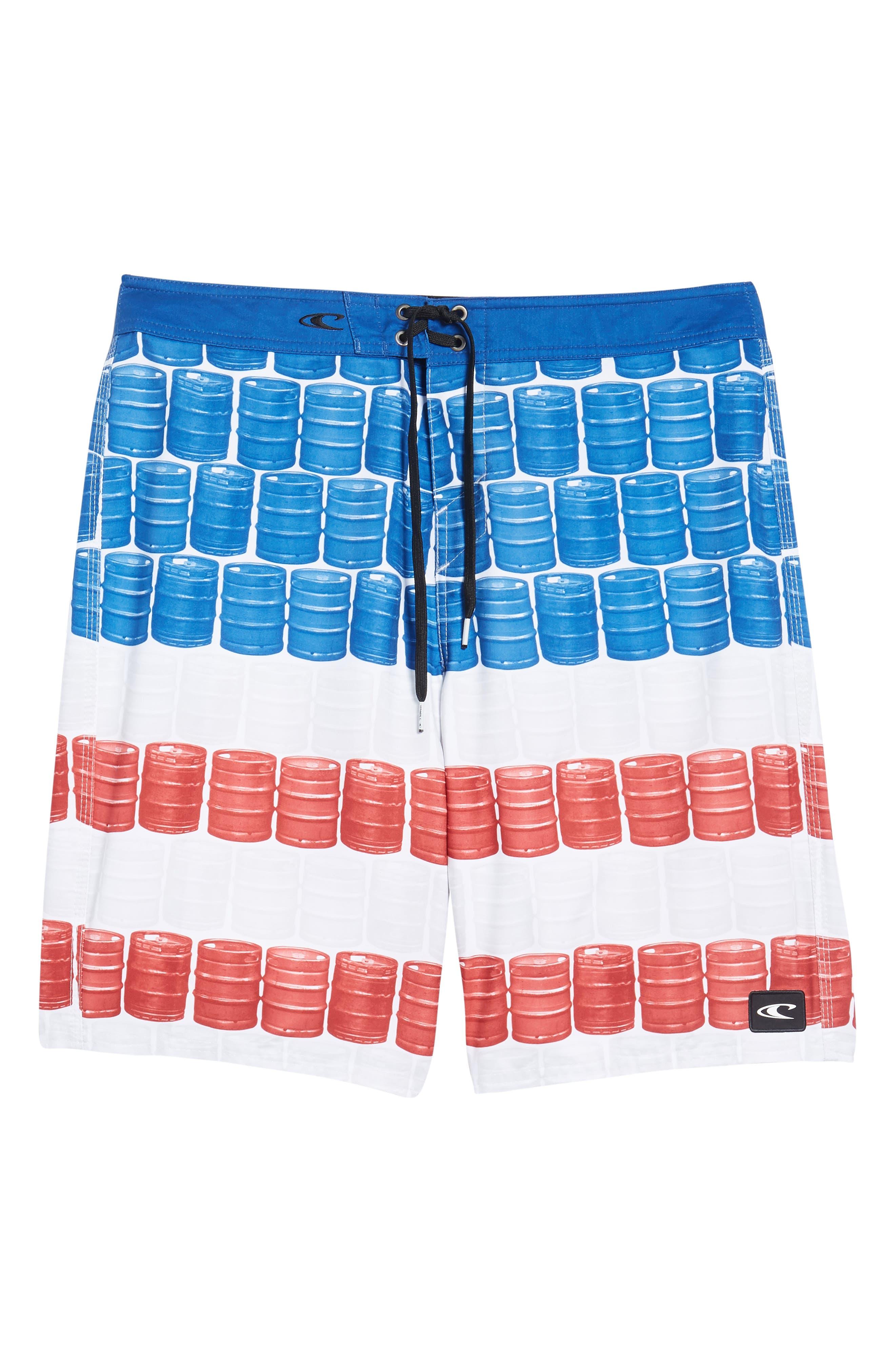 Kegleg Board Shorts,                             Alternate thumbnail 6, color,                             840