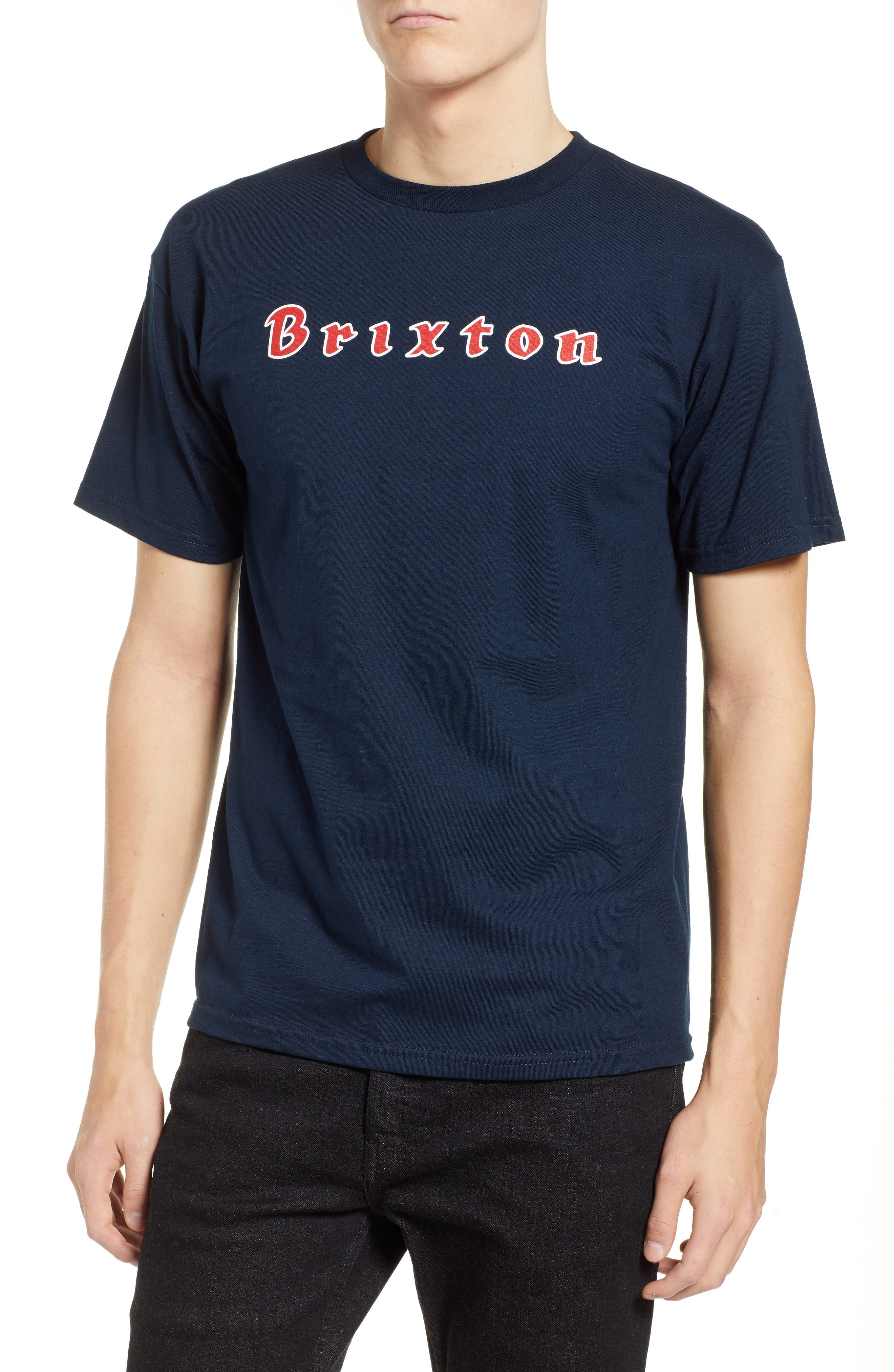 Proxy Short Sleeve Logo T-Shirt,                         Main,                         color, NAVY