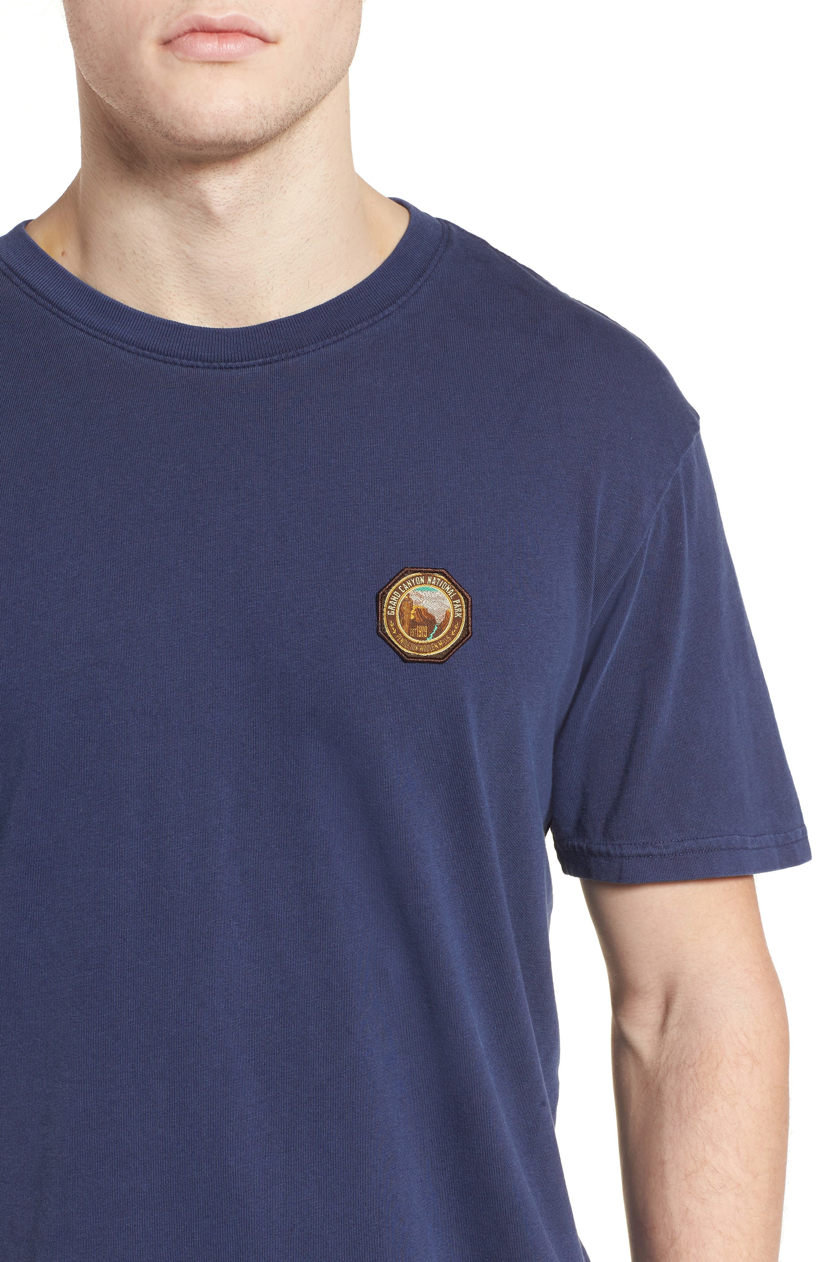 x Pendleton Grand Canyon Patch T-Shirt,                             Alternate thumbnail 4, color,