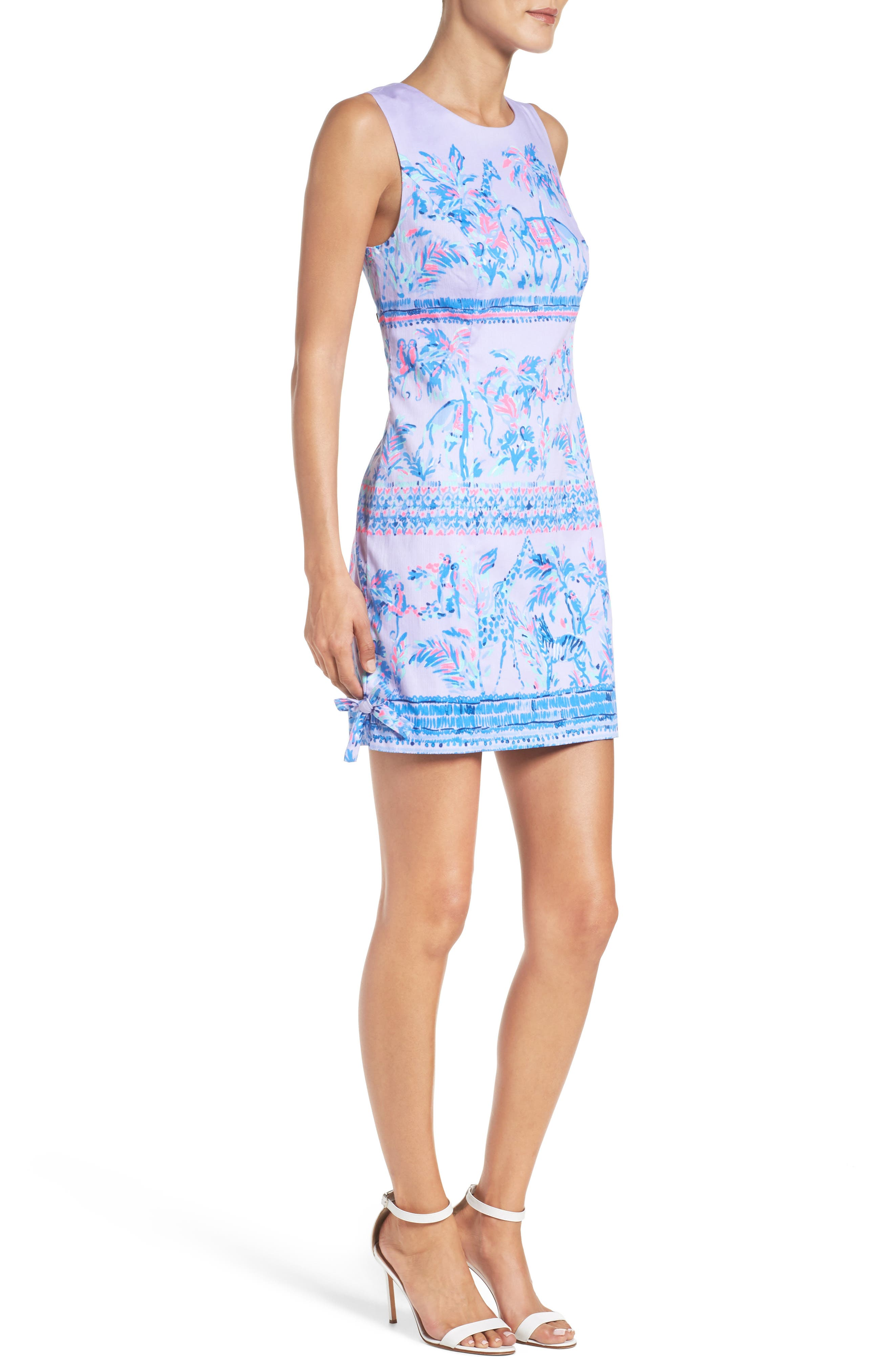 LILLY PULITZER<SUP>®</SUP>,                             Mila Shift Dress,                             Alternate thumbnail 3, color,                             550