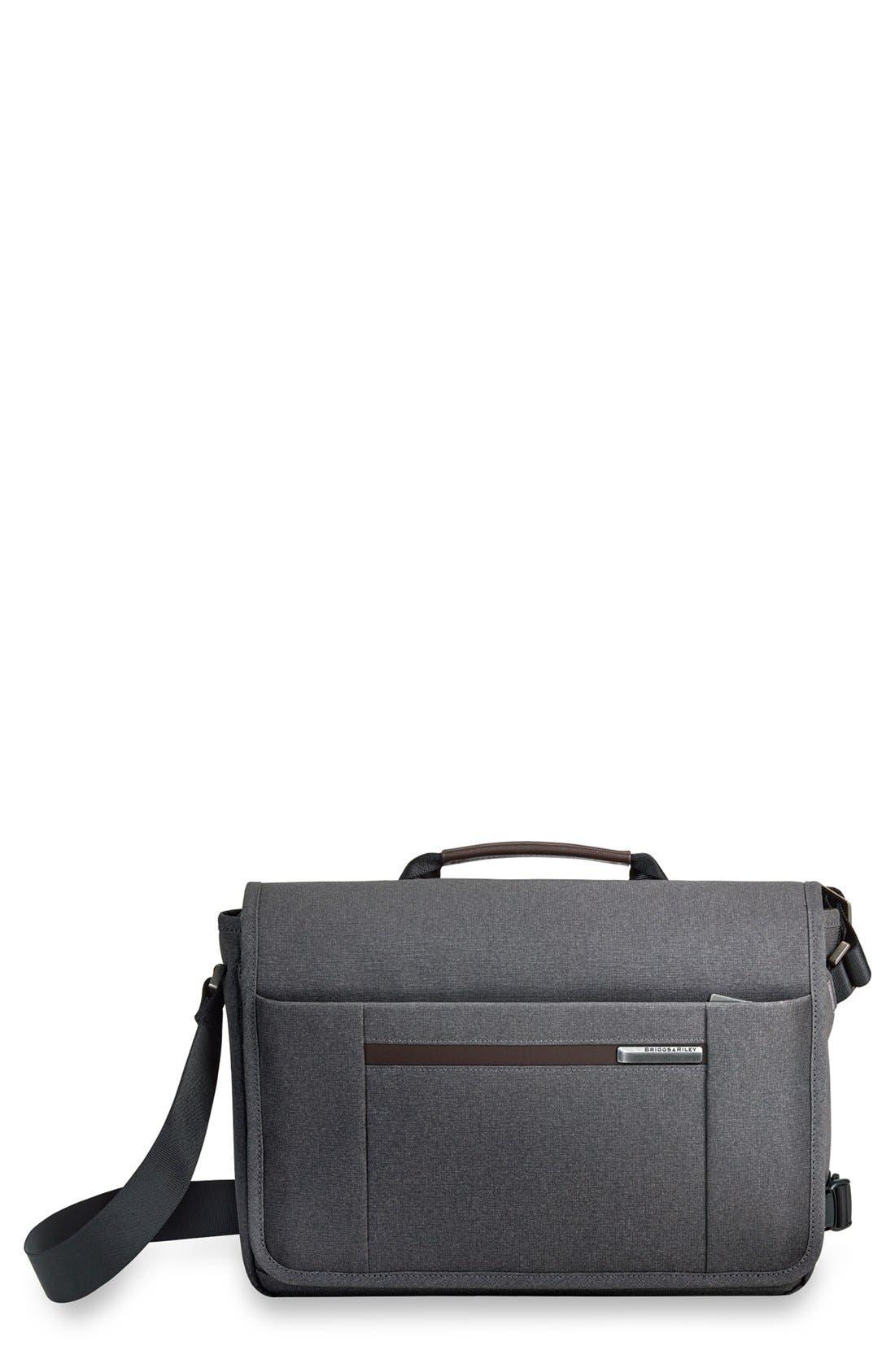 'Kinzie Street - Micro' Messenger Bag,                             Main thumbnail 1, color,                             GREY