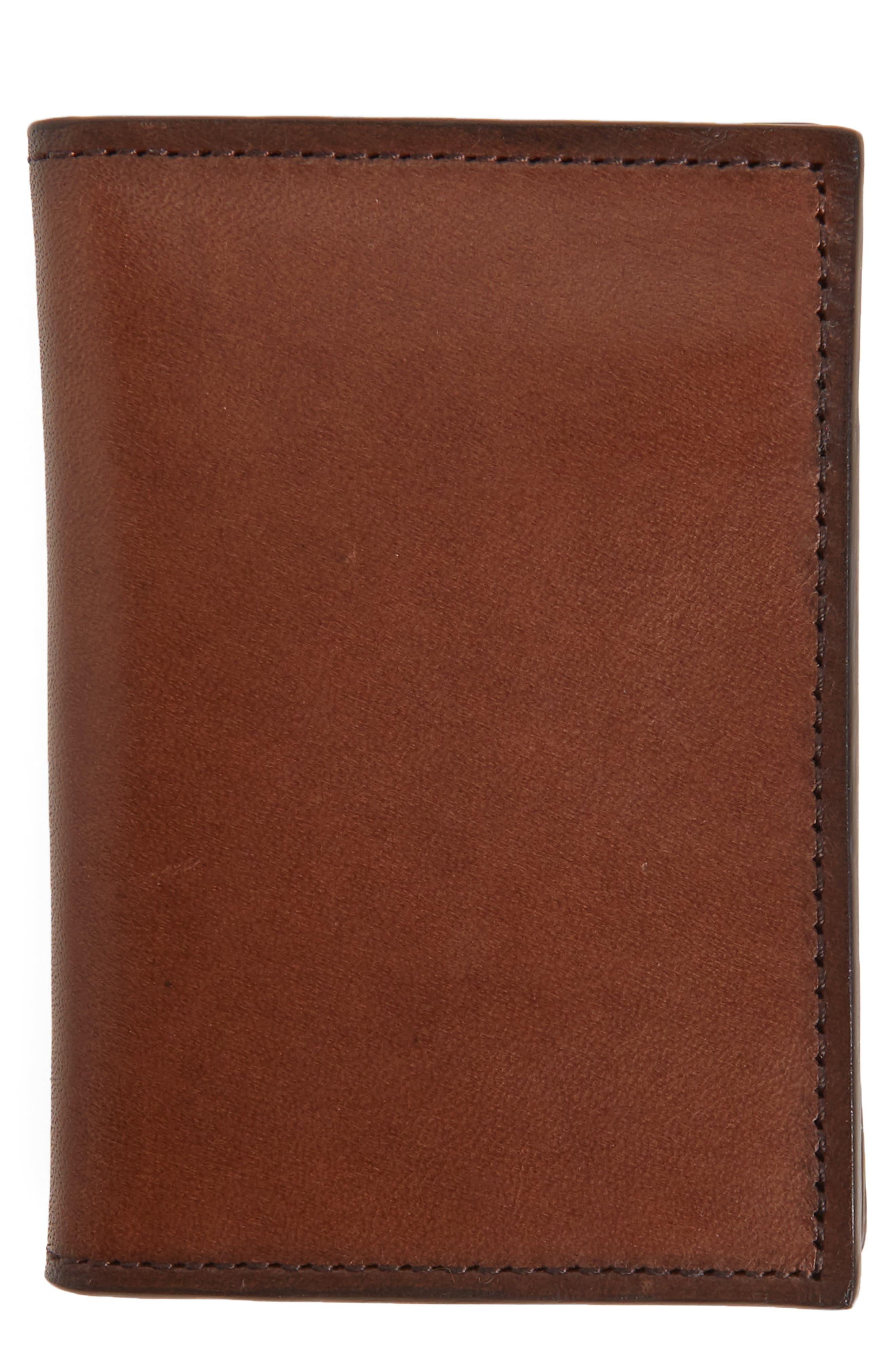 Parker Leather Bifold Card Case,                             Main thumbnail 2, color,